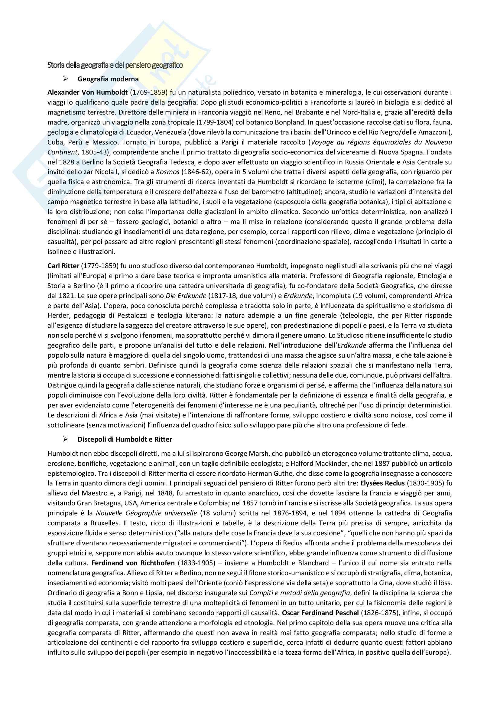appunto C. Incani Carta Geografia