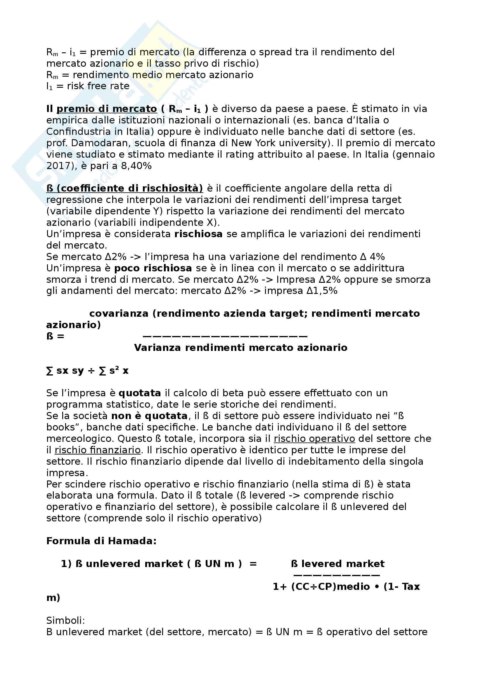 appunti delle lezioni- Ragioneria corso avanzato Pag. 31