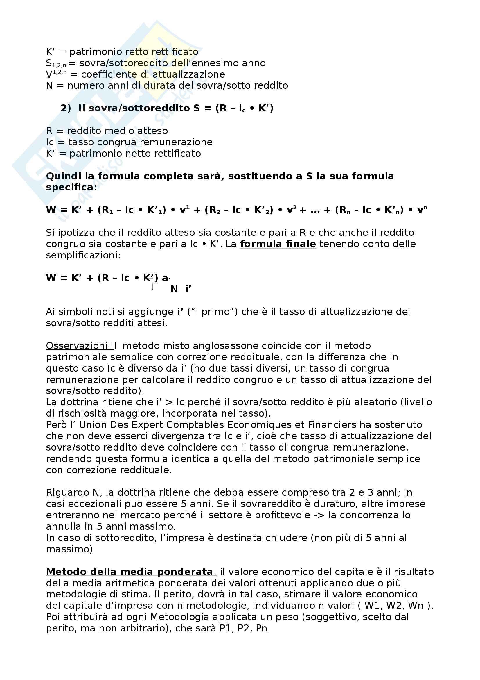 appunti delle lezioni- Ragioneria corso avanzato Pag. 46