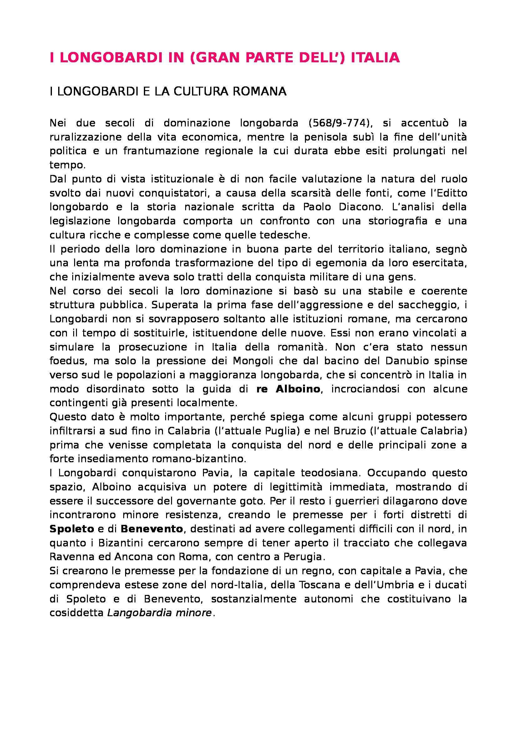 Storia del diritto italiano - Longobardi