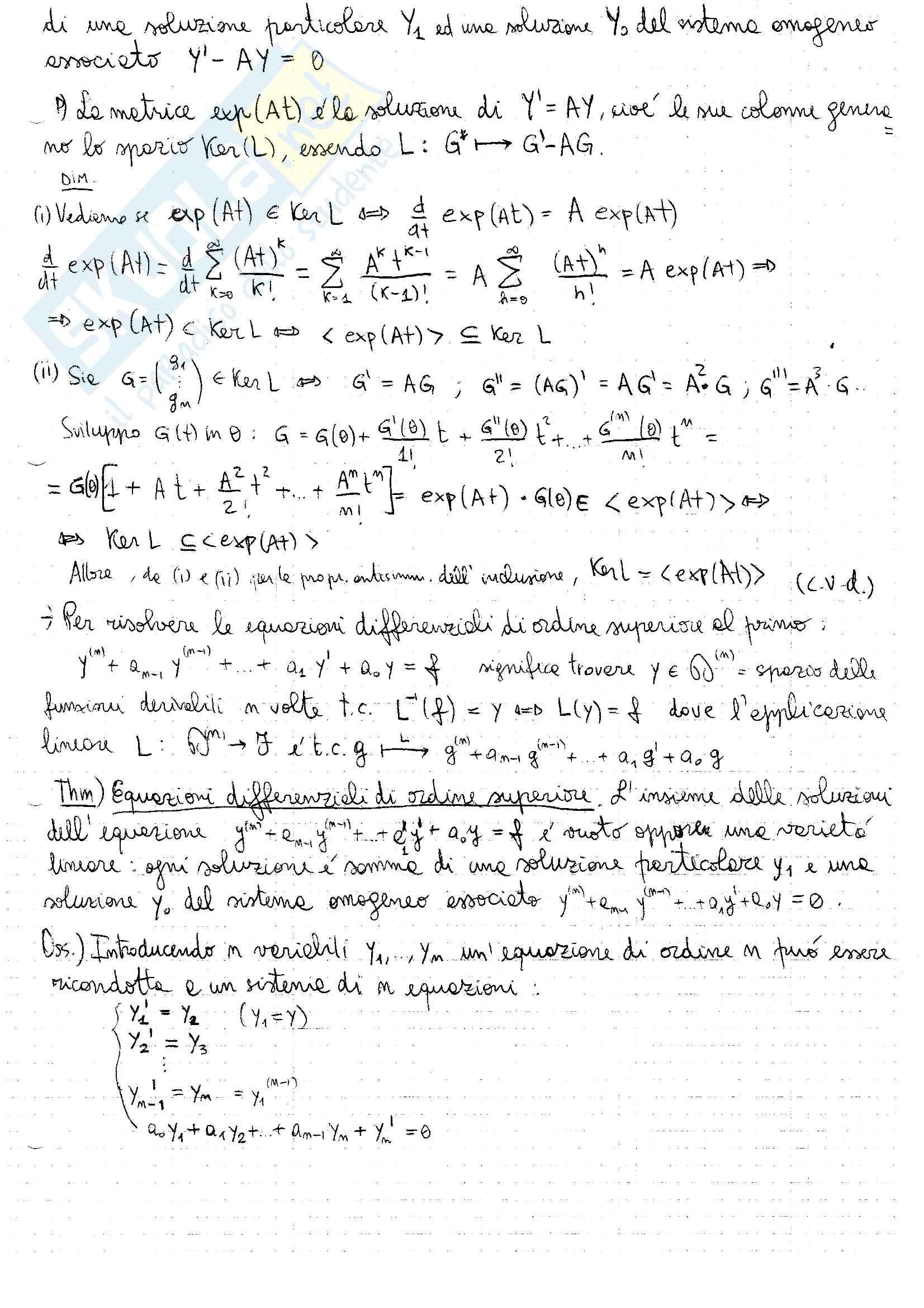 """Appunti di """"Fondamenti di algebra lineare e geometria"""" Pag. 31"""