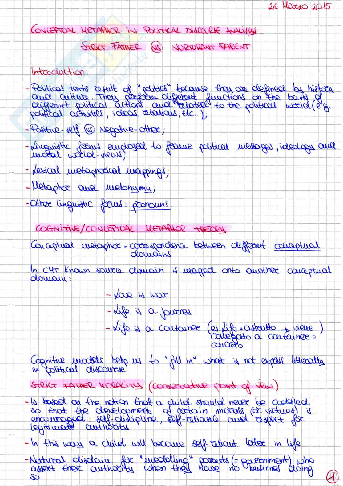 Appunti linguistica inglese