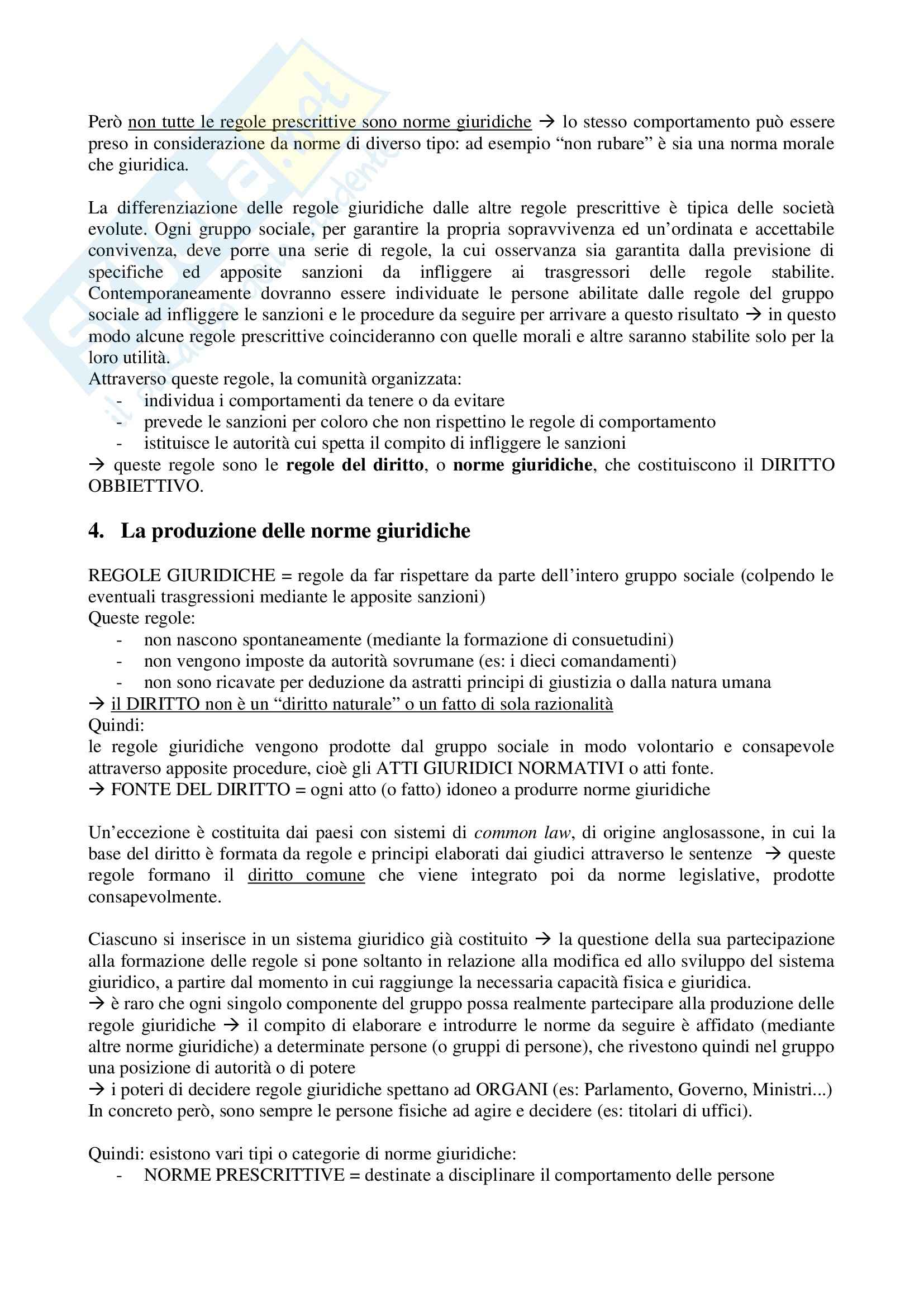 Riassunto esame Diritto, prof. Olivi, libro consigliato Lineamenti di Diritto pubblico, Falcon Pag. 2