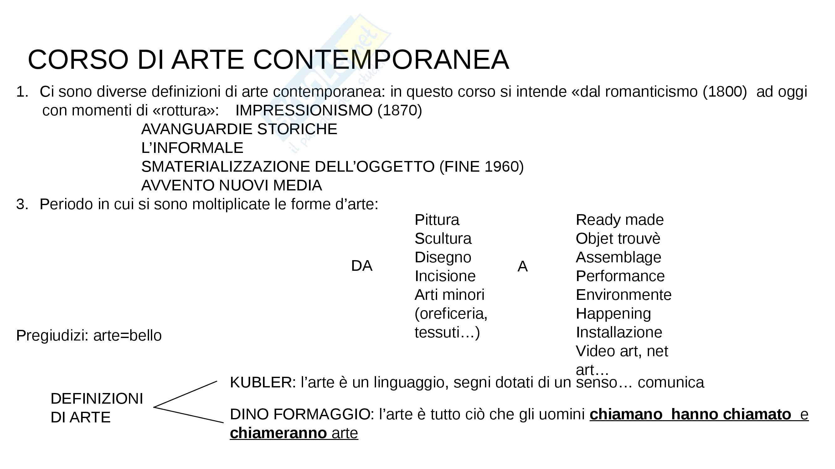 1 Arte contemporanea: il romanticismo