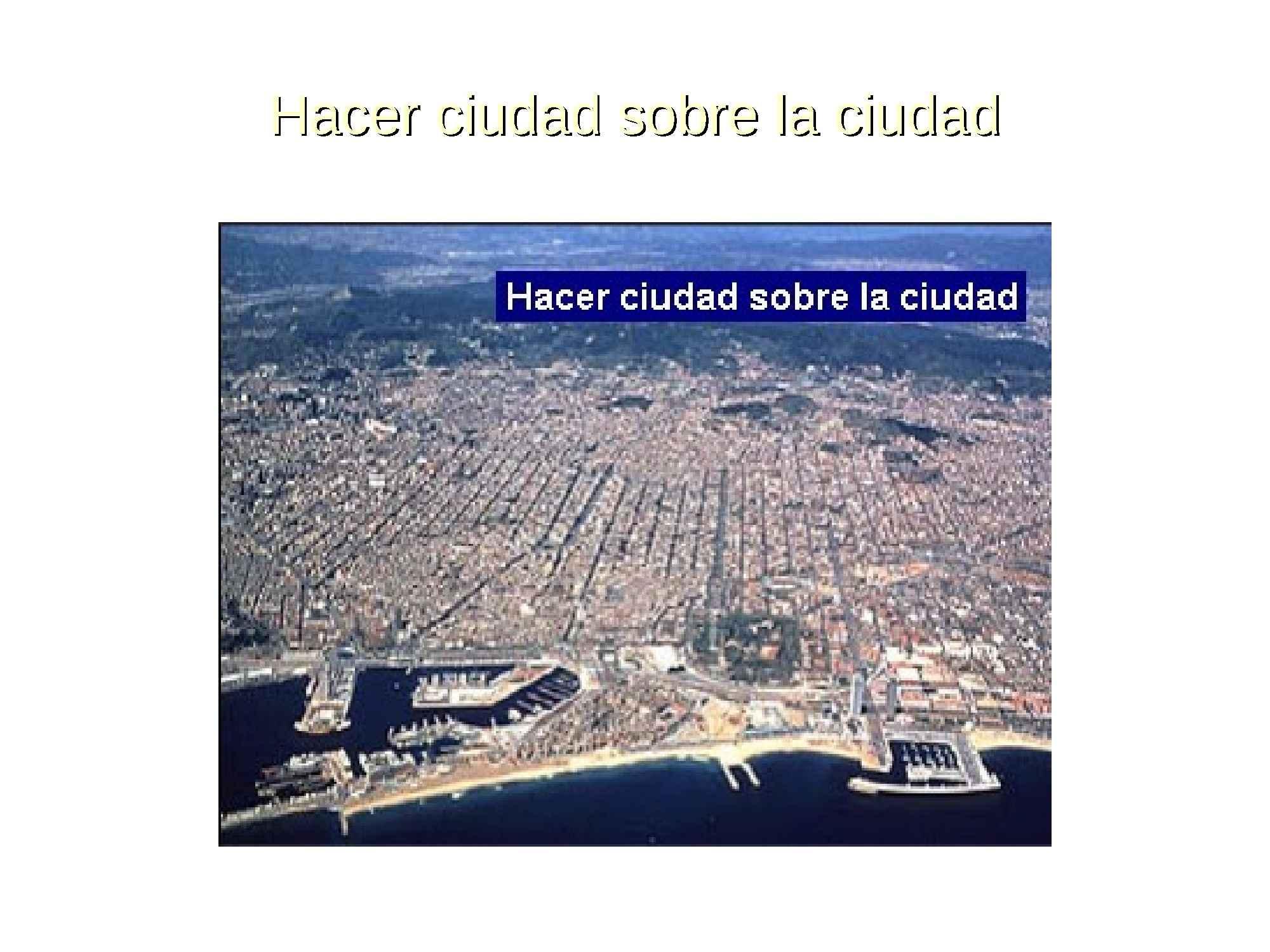 Spazi pubblici urbani - Barcellona