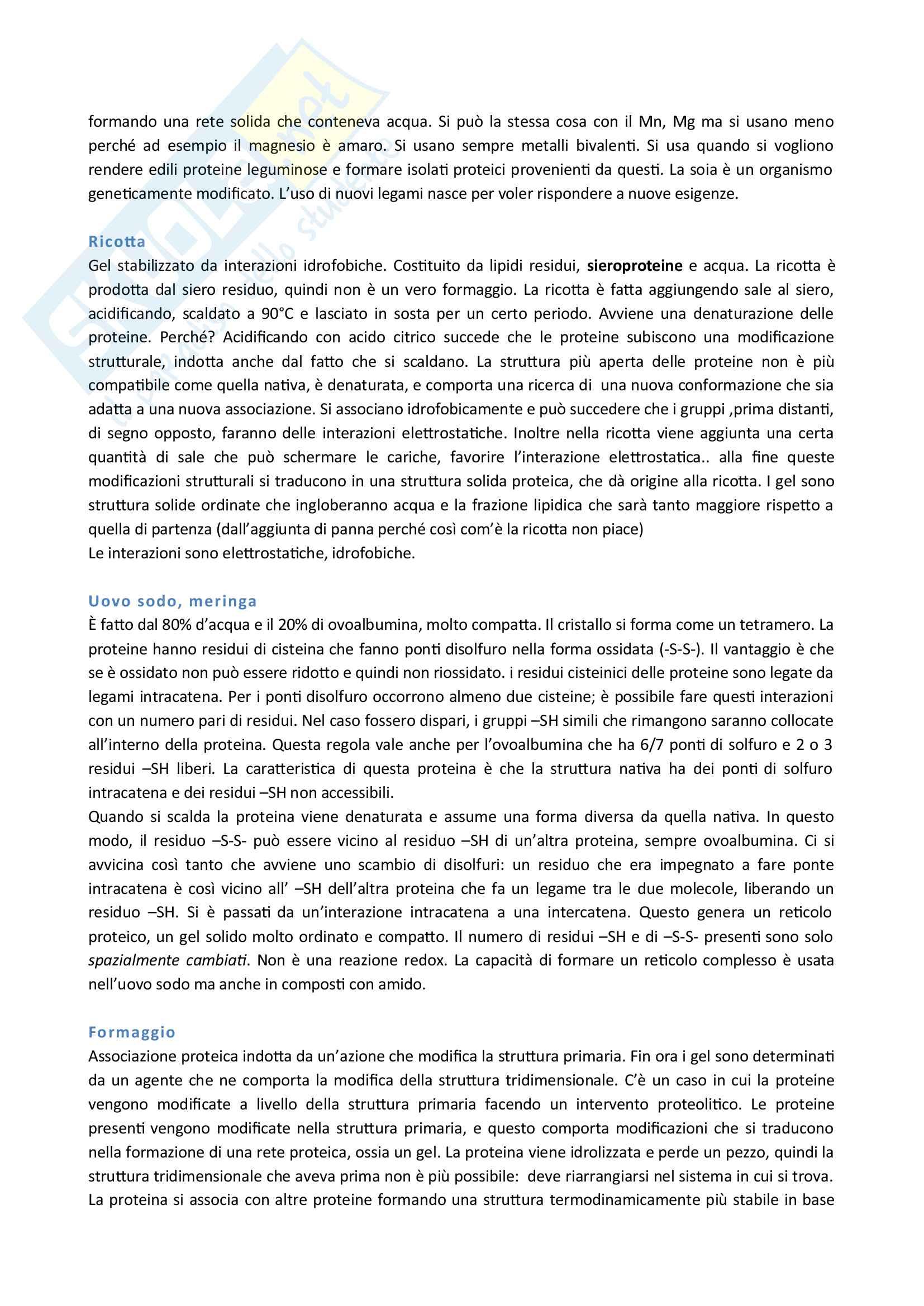 Biochimica alimentare Pag. 6