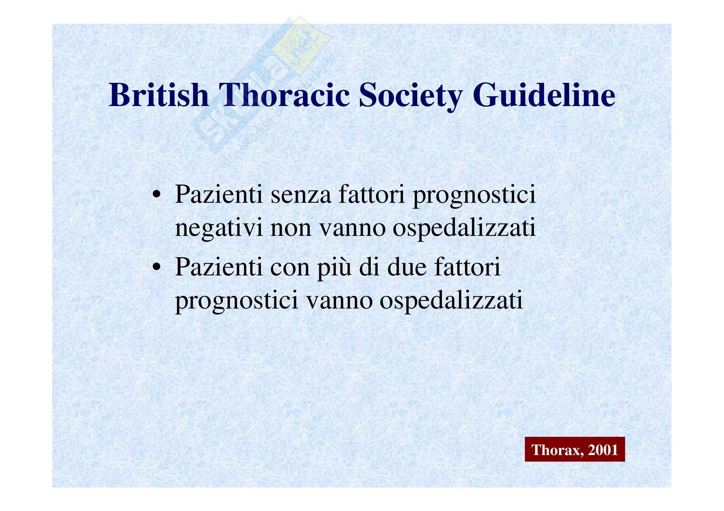 Emergenze medico-chirurgiche II - polmoniti e ospedalizzazione Pag. 16