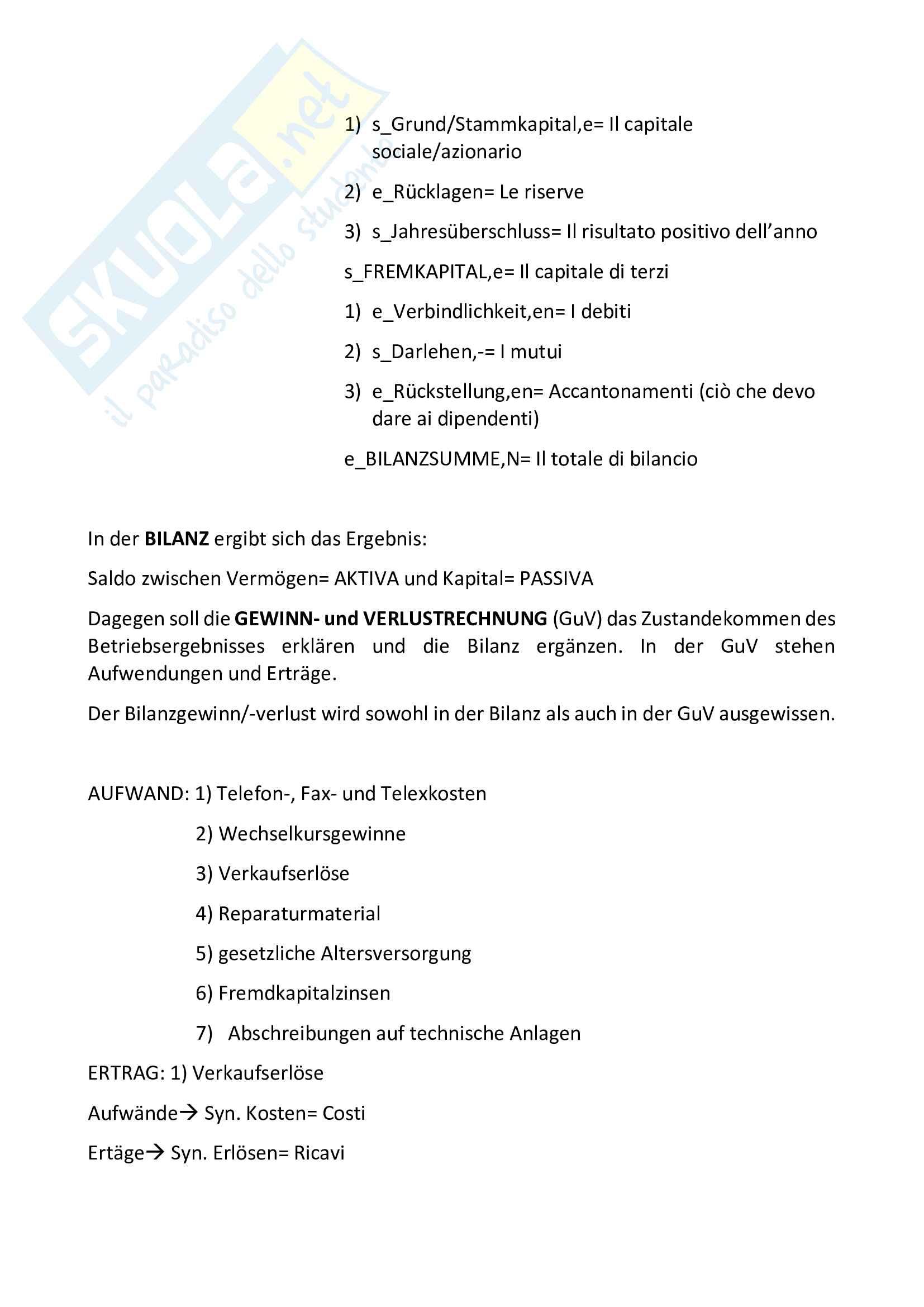 Appunti linguaggi settoriali tedesco Pag. 16