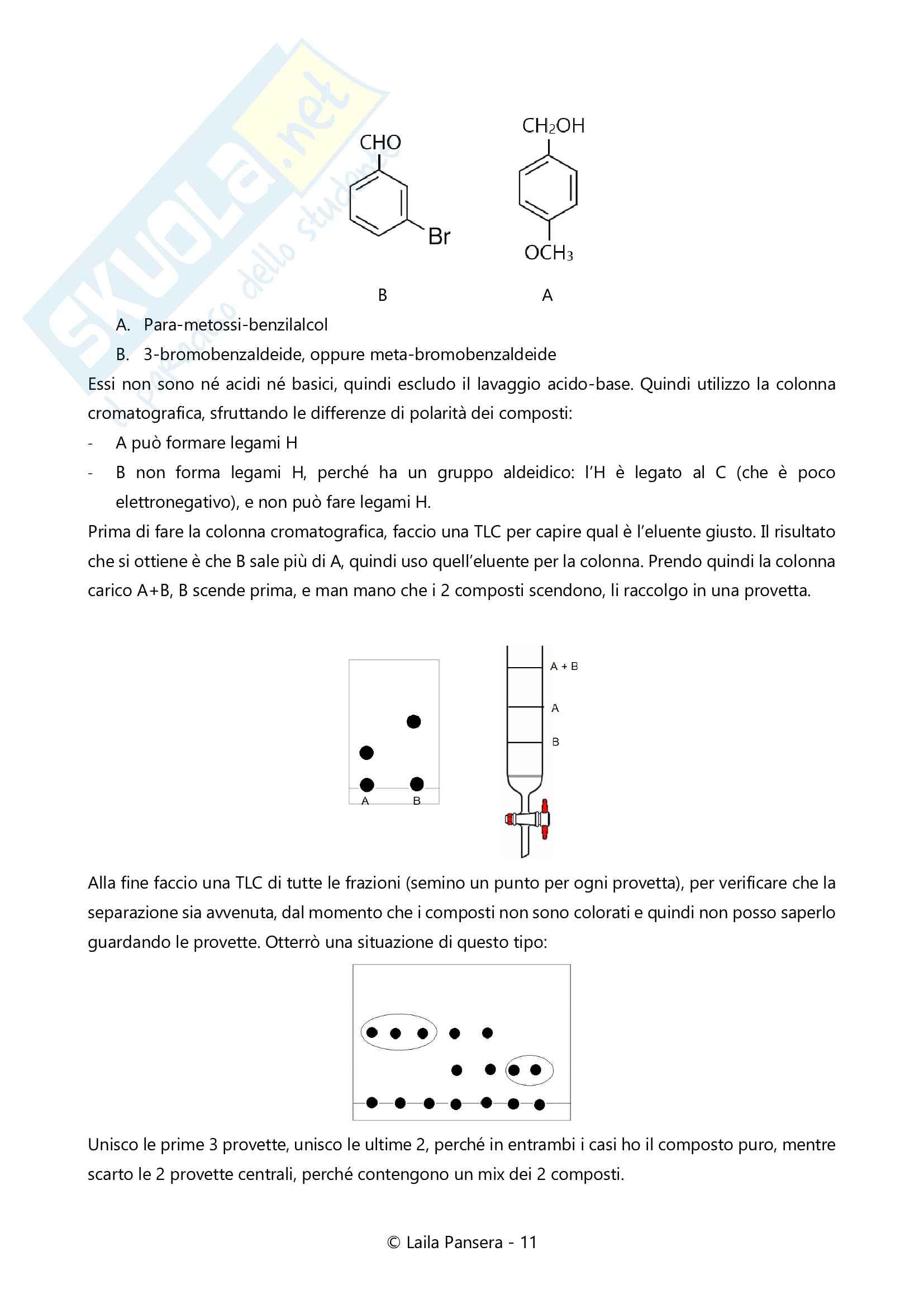 Struttura e funzione delle molecole organiche negli alimenti, parte 3: esercizi svolti Pag. 11