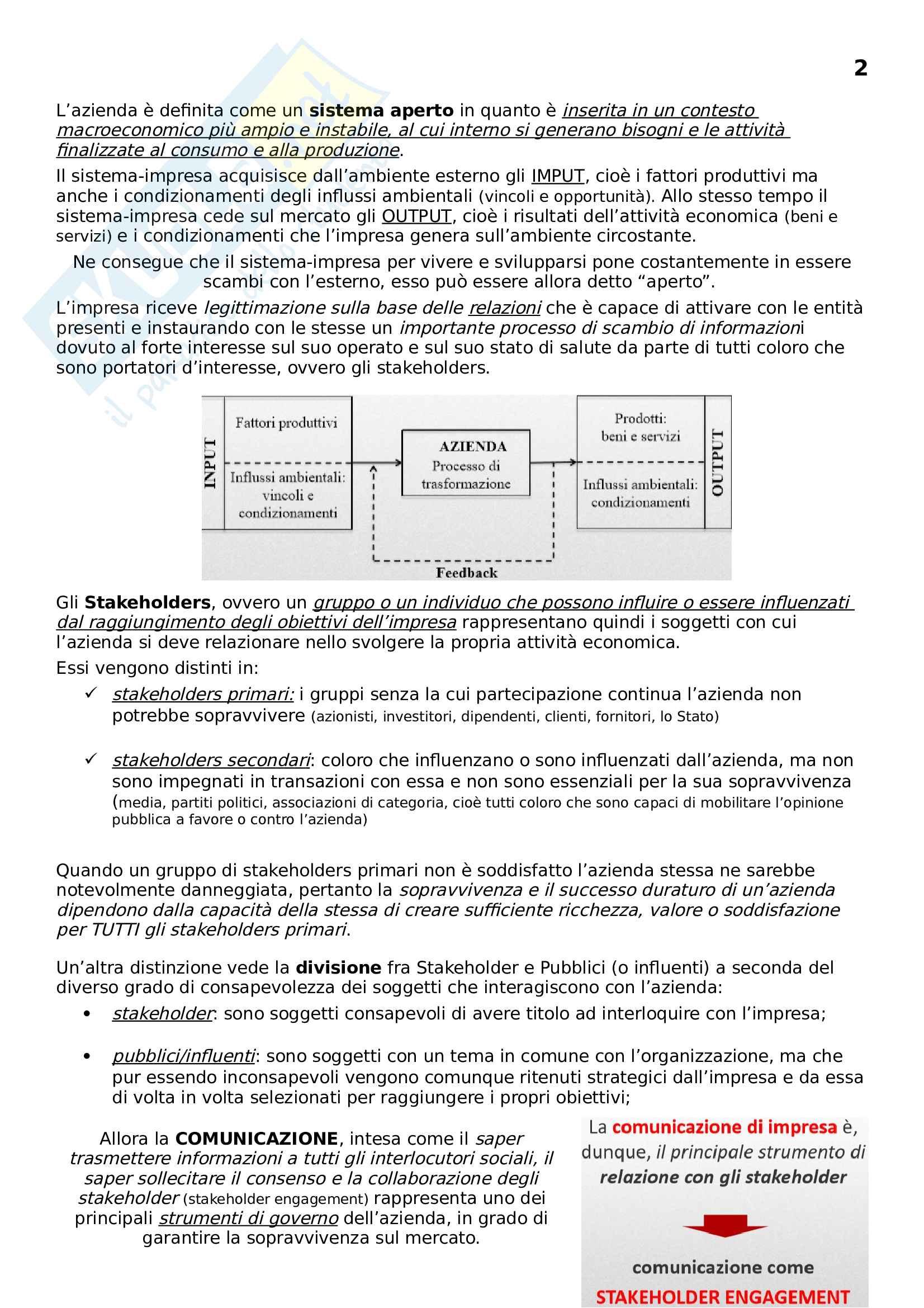 Comunicazione Finanziaria delle banche ed Assicurazioni Pag. 2