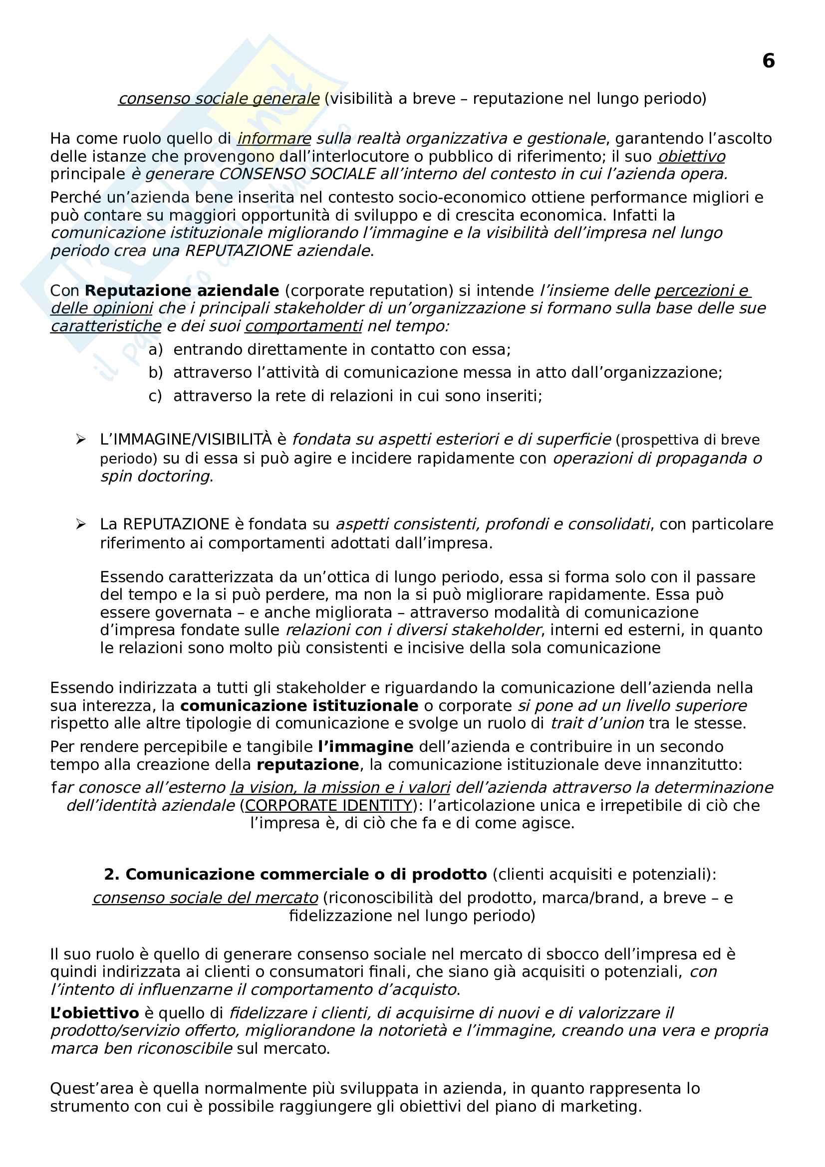 Comunicazione Finanziaria delle banche ed Assicurazioni Pag. 6