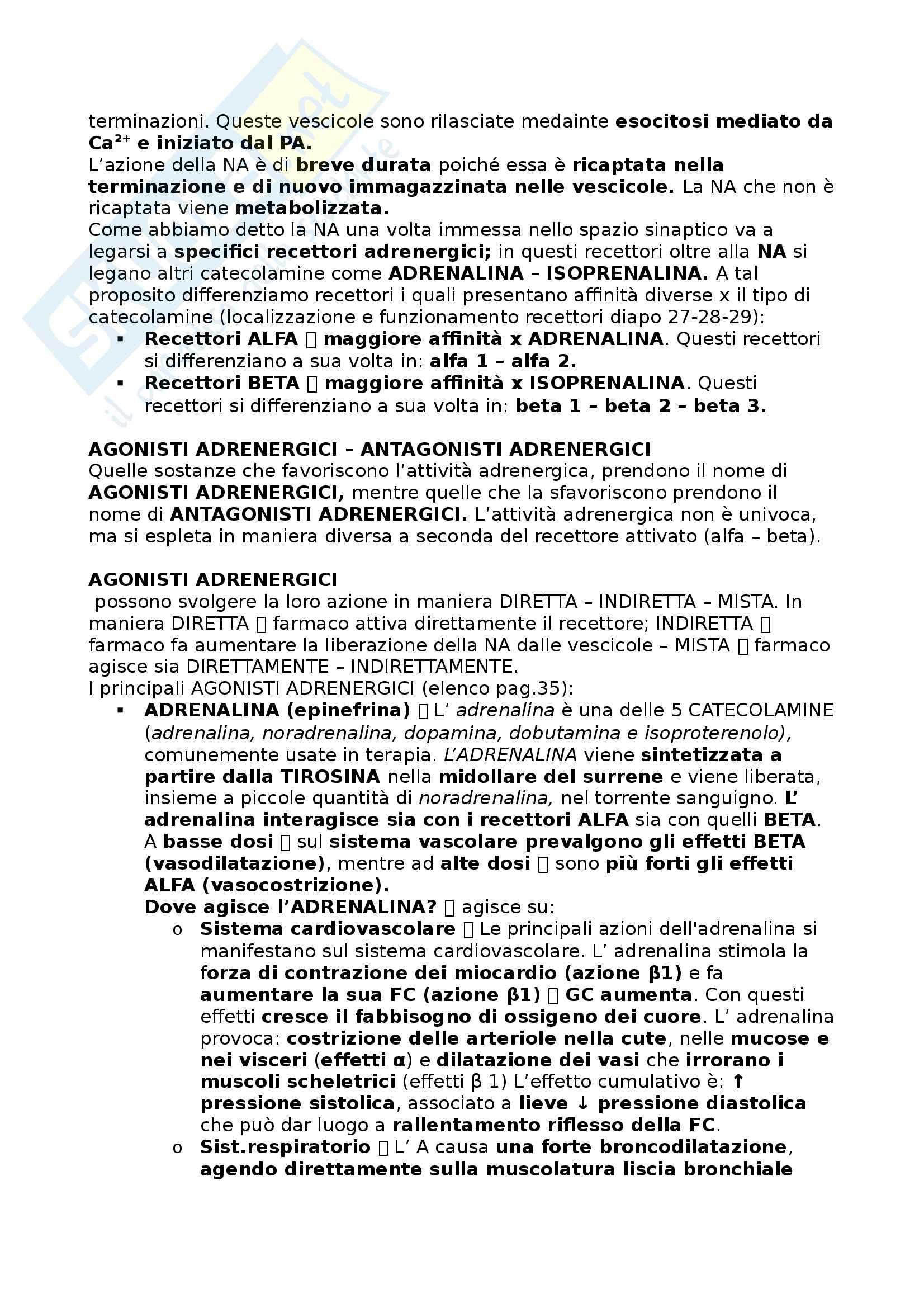 Farmacologia - Appunti Pag. 21