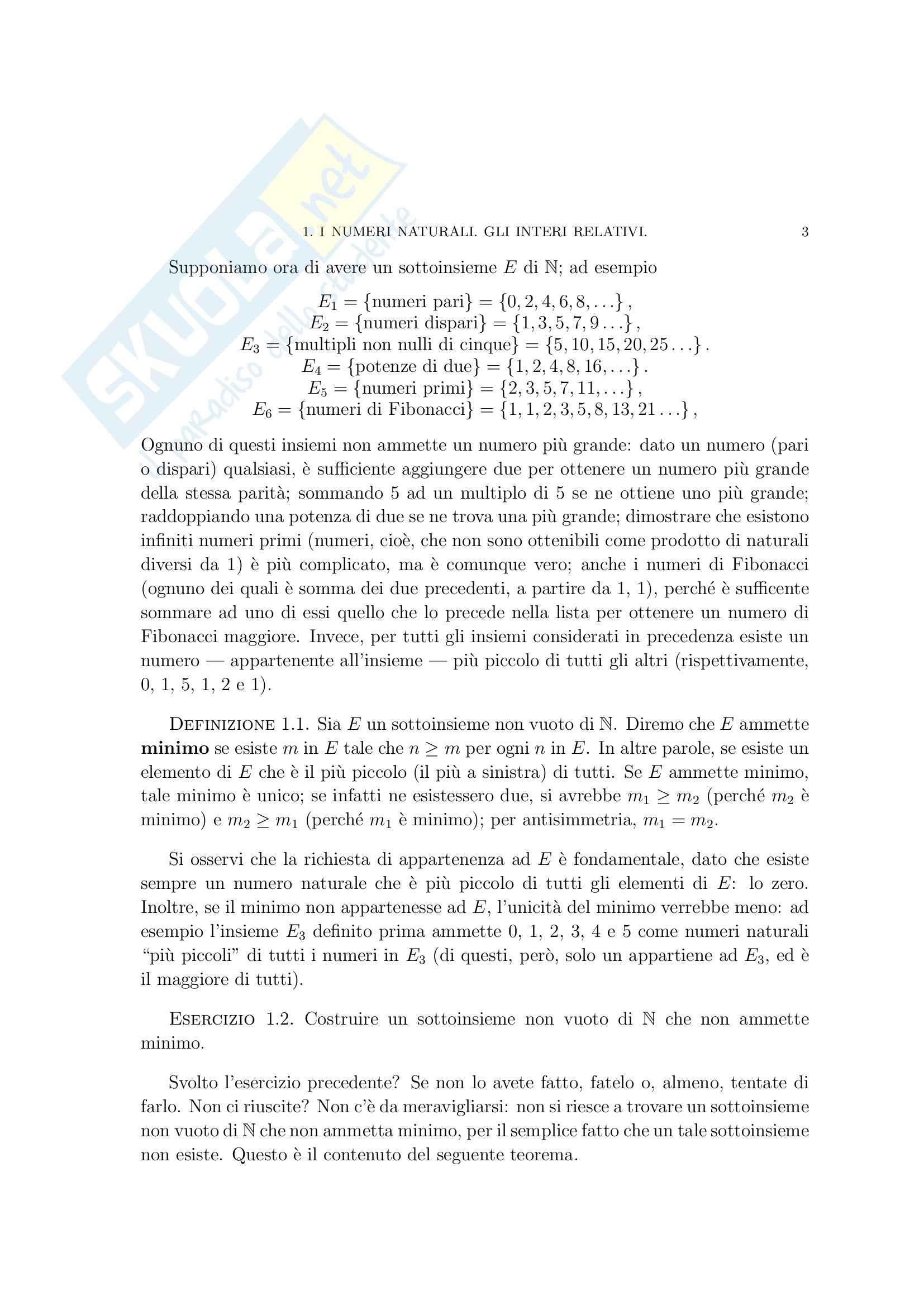 Matematica per le applicazioni I - i numeri razionali Pag. 21