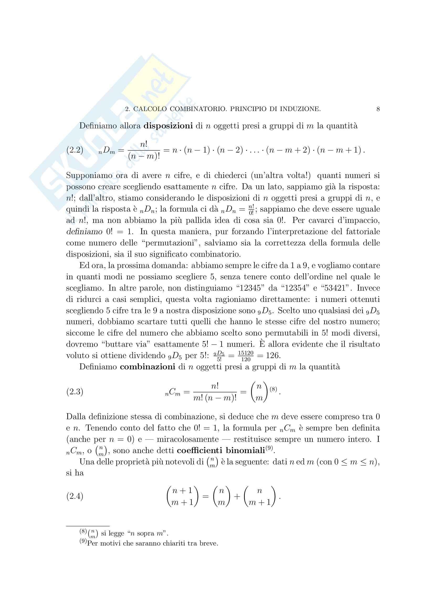 Matematica per le applicazioni I - i numeri razionali Pag. 26