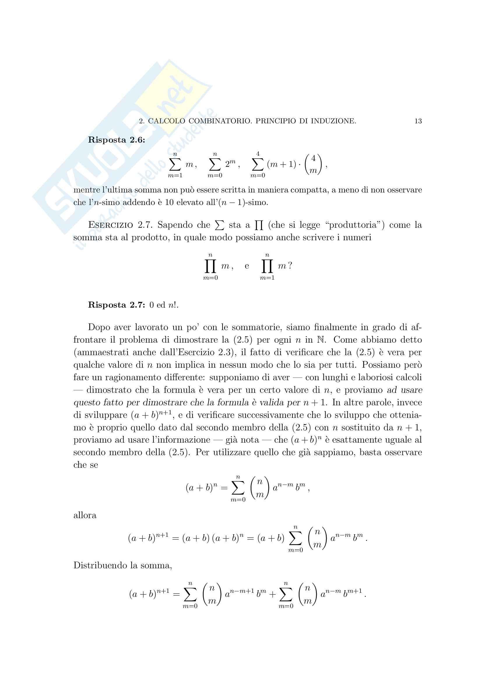 Matematica per le applicazioni I - i numeri razionali Pag. 31