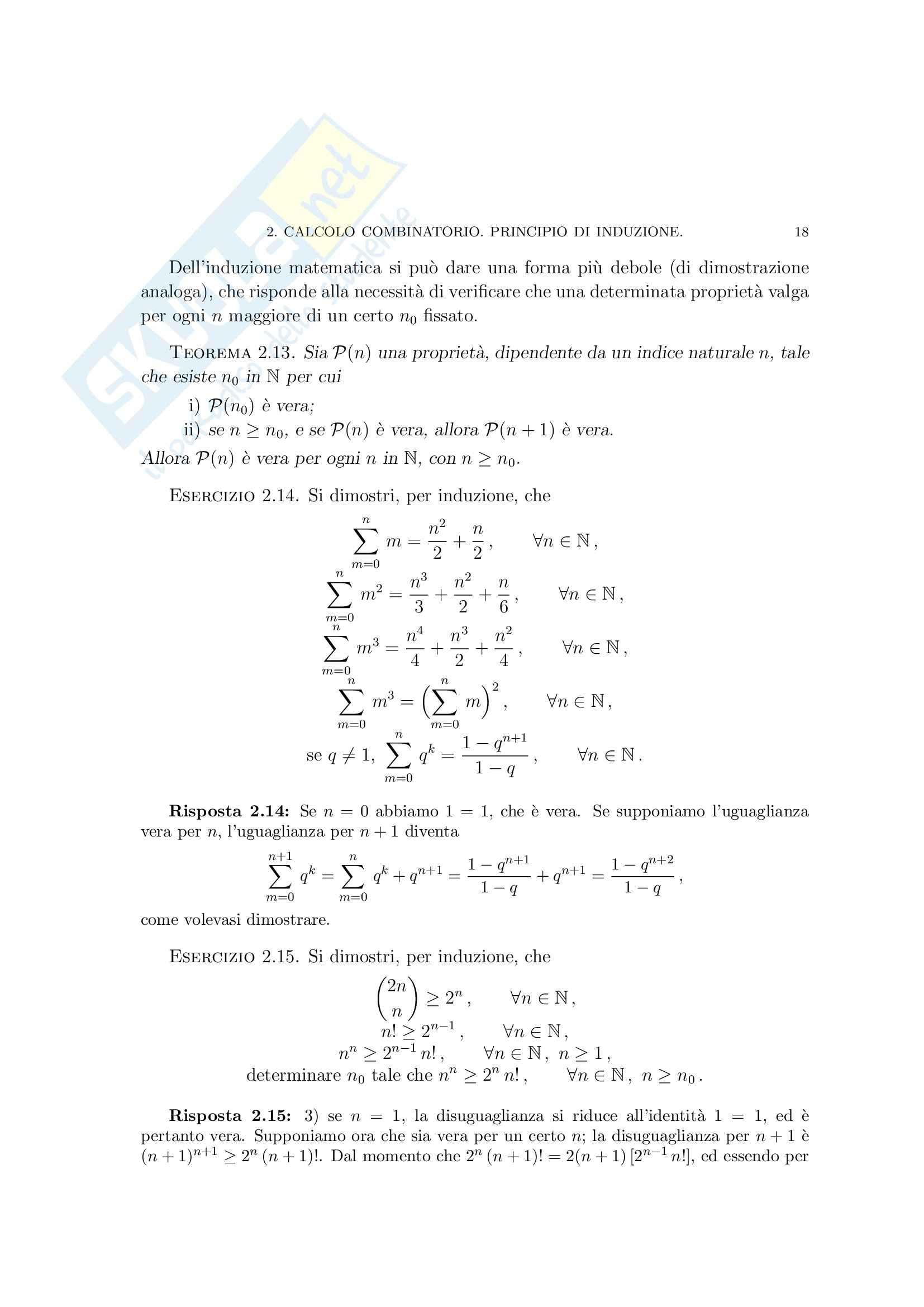 Matematica per le applicazioni I - i numeri razionali Pag. 36