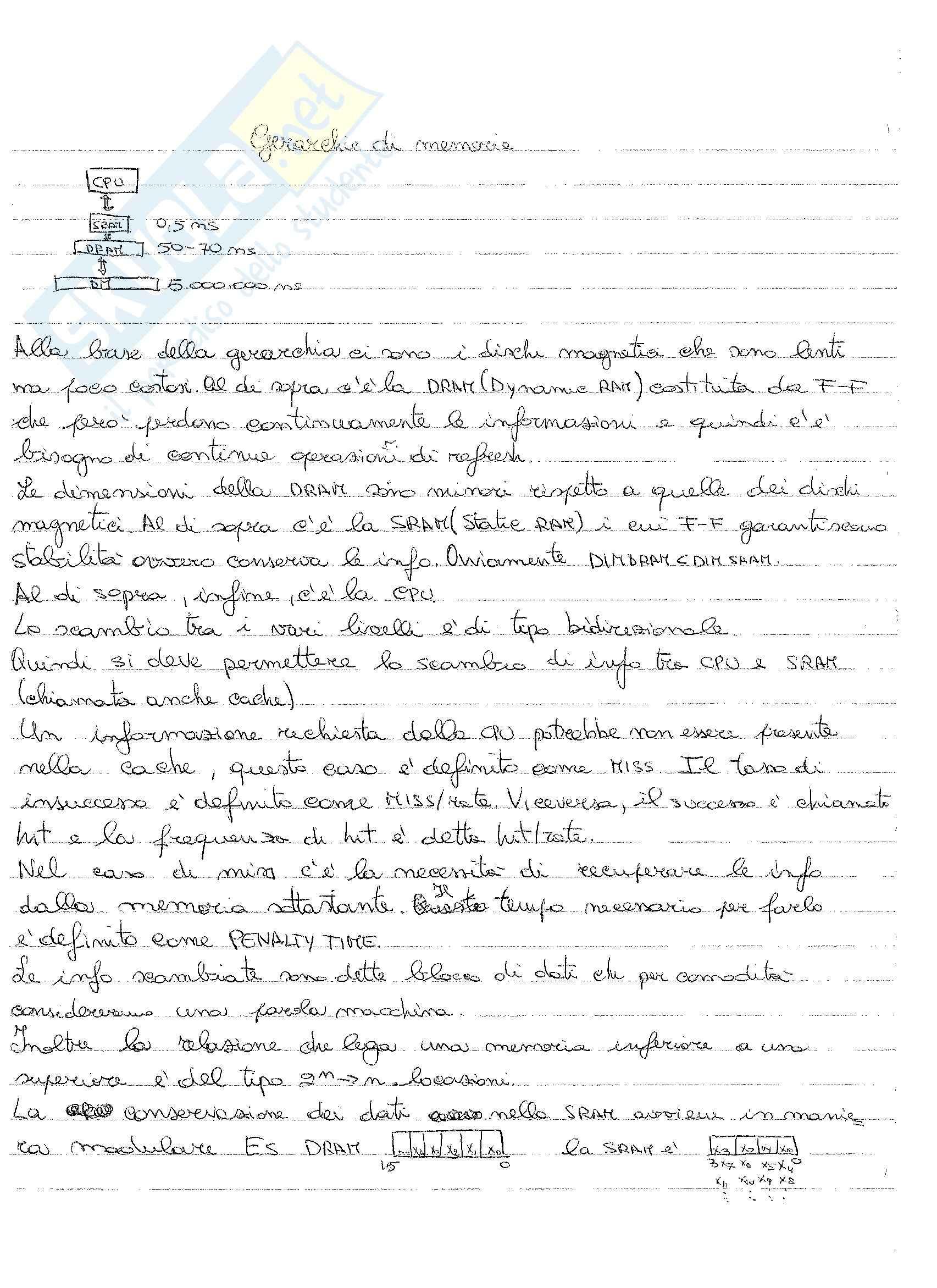 Architettura degli elaboratori - Appunti Pag. 76