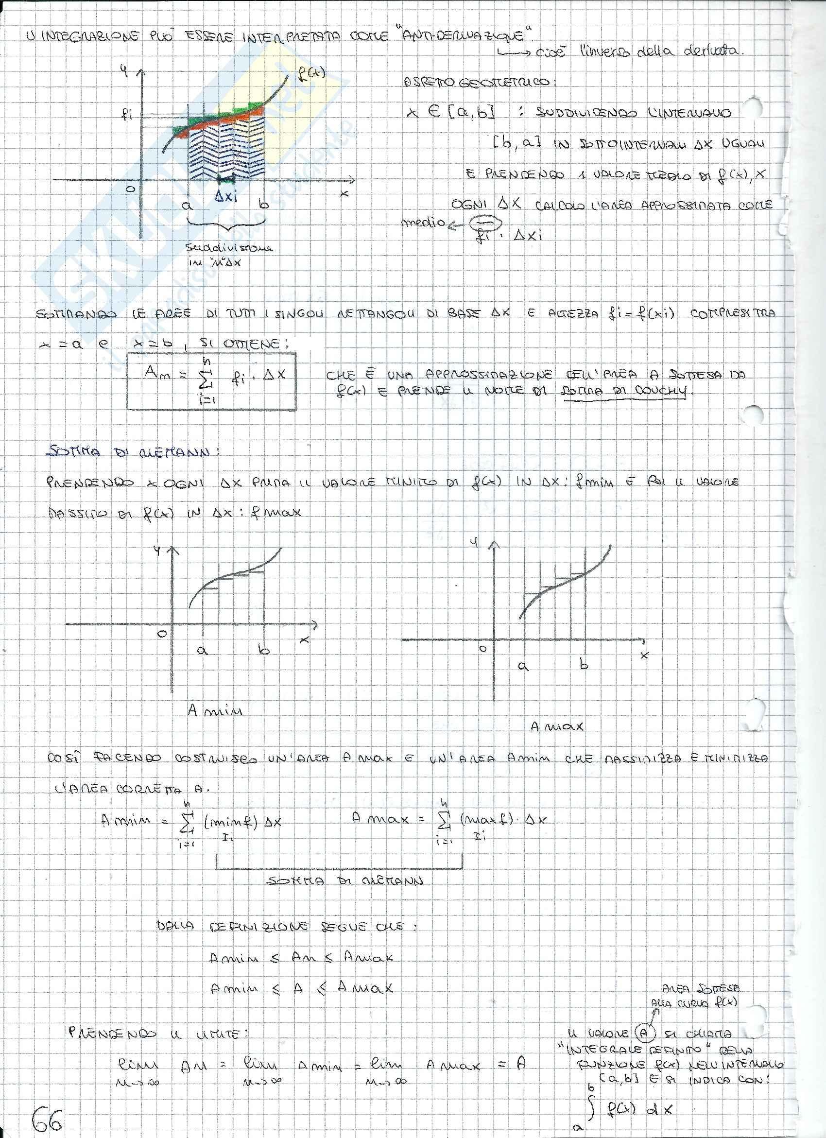 Matematica e statistica - Appunti secondo parziale Pag. 16