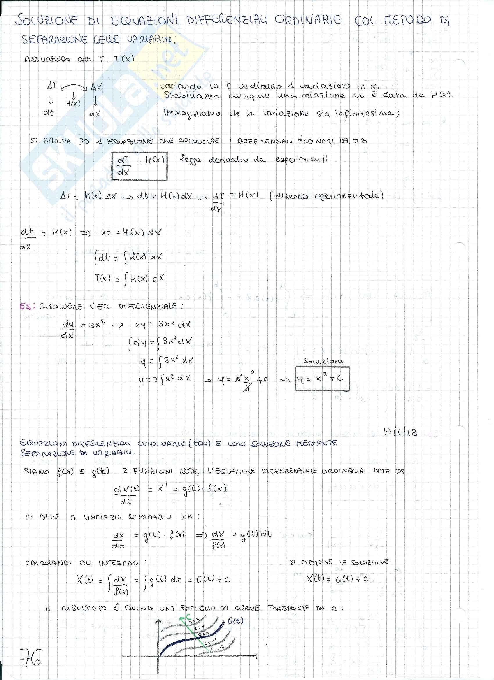Matematica e statistica - Appunti secondo parziale Pag. 26