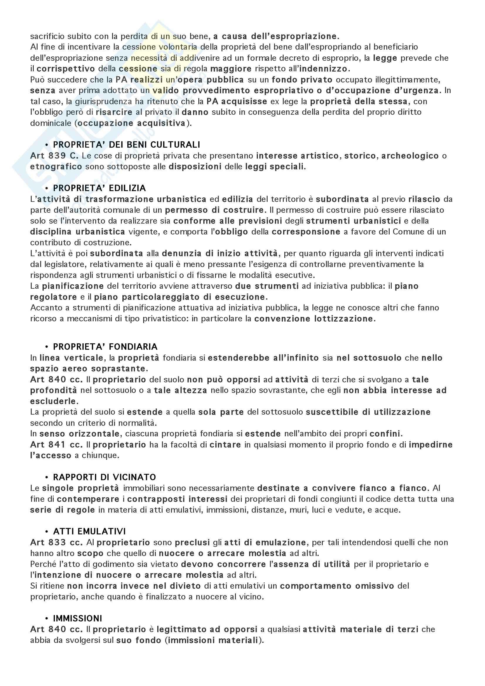 Manuale di diritto privato, Torrente - Appunti Pag. 2