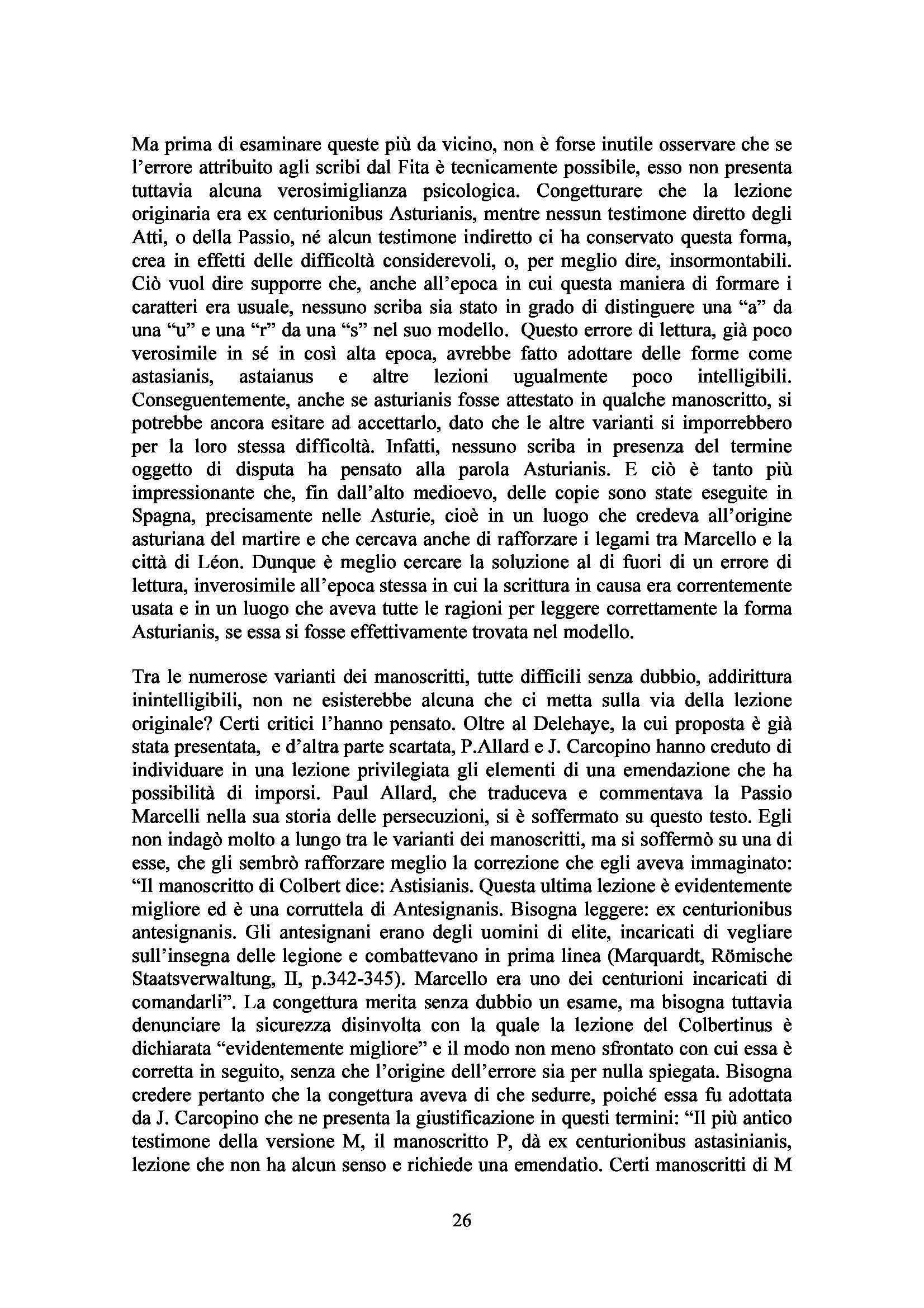 Tesi - Traduzione ed esame linguistico di alcuni testi agiografici Pag. 26