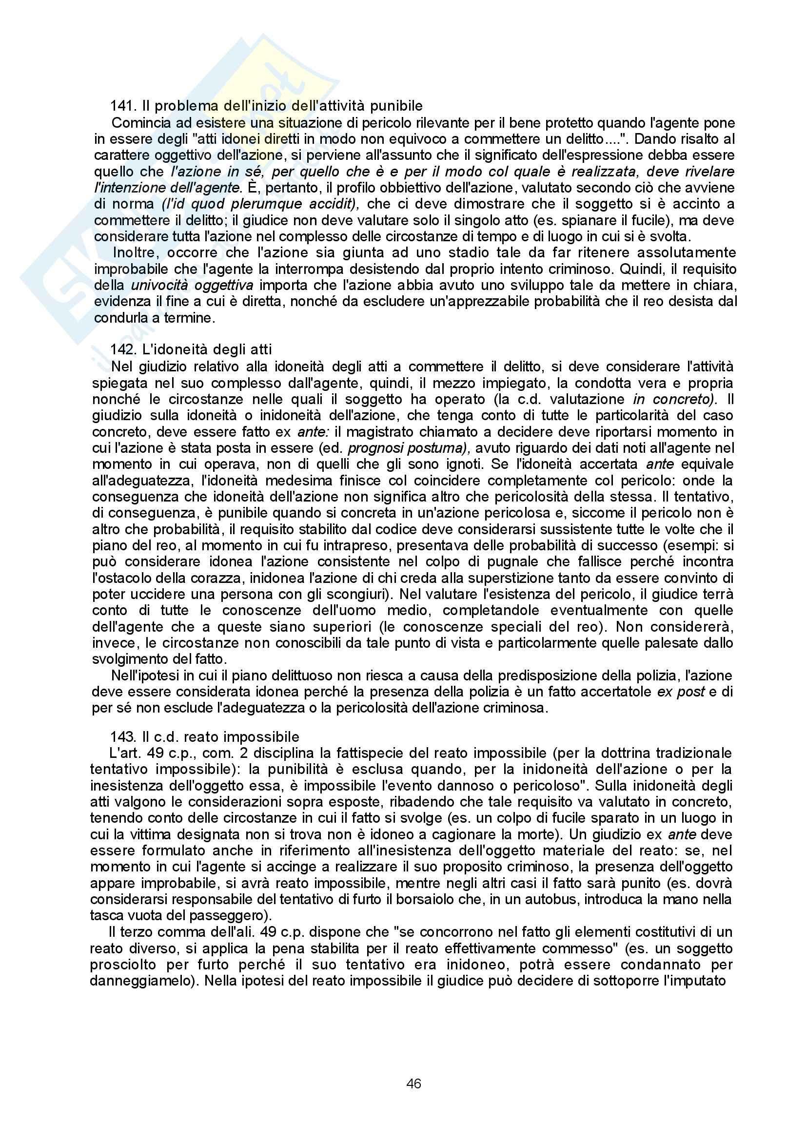 Diritto penale - Appunti Pag. 46