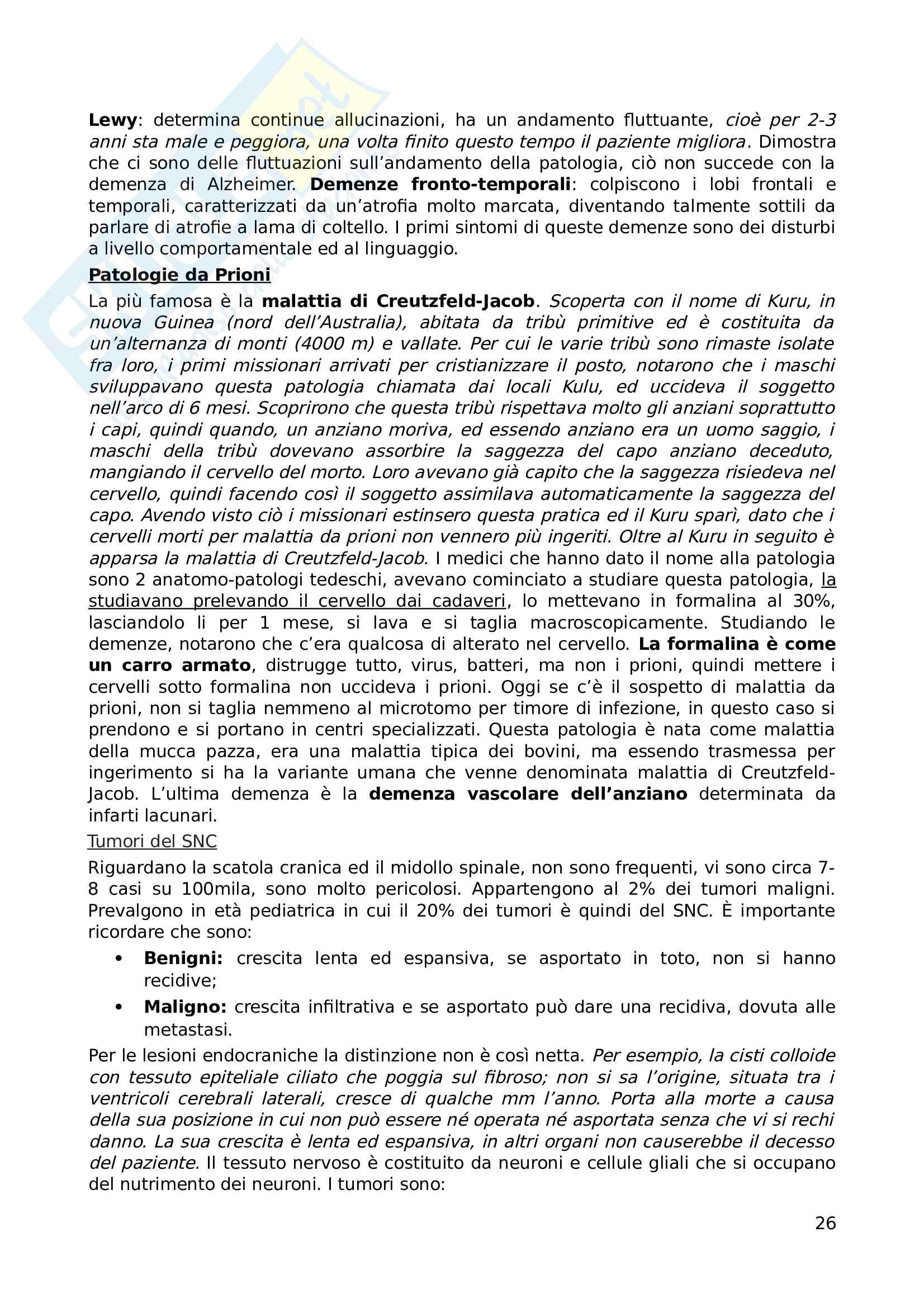 Appunti di Anatomia Patologica Pag. 26