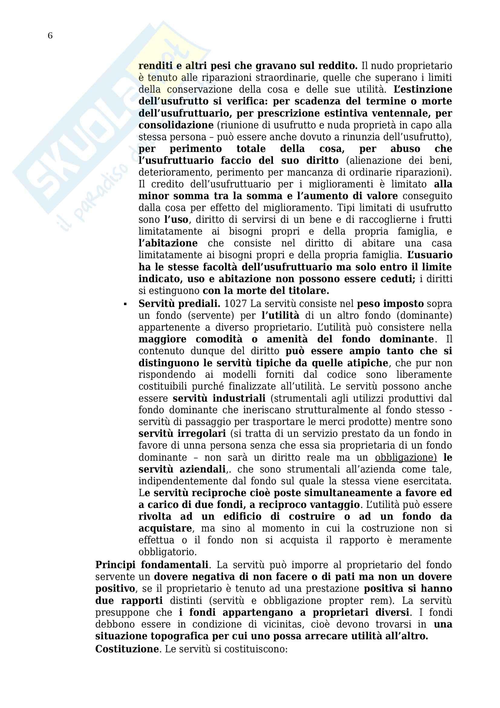 Riassunto esame Diritto privato, prof. Benacchio, libro consigliato Manuale di diritto privato, Torrente, Schlesinger: parte due Pag. 6