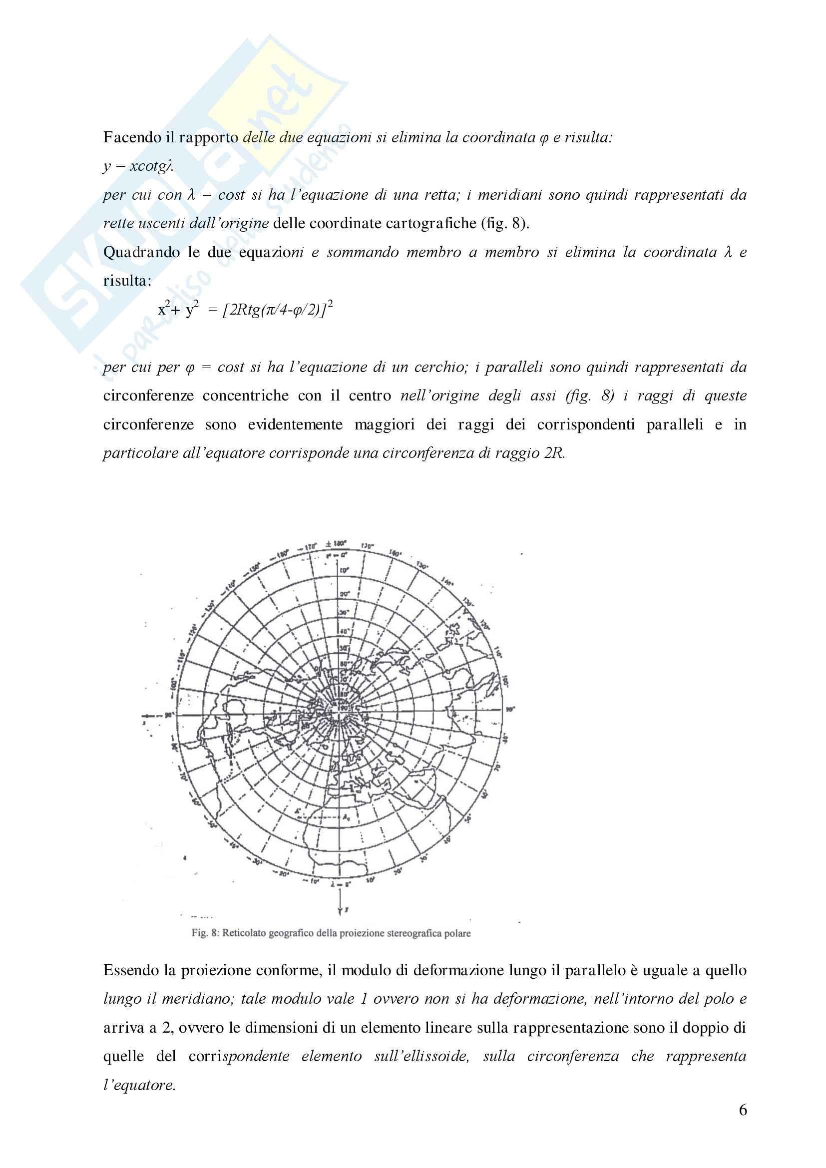 Topografia e cartografia Pag. 6