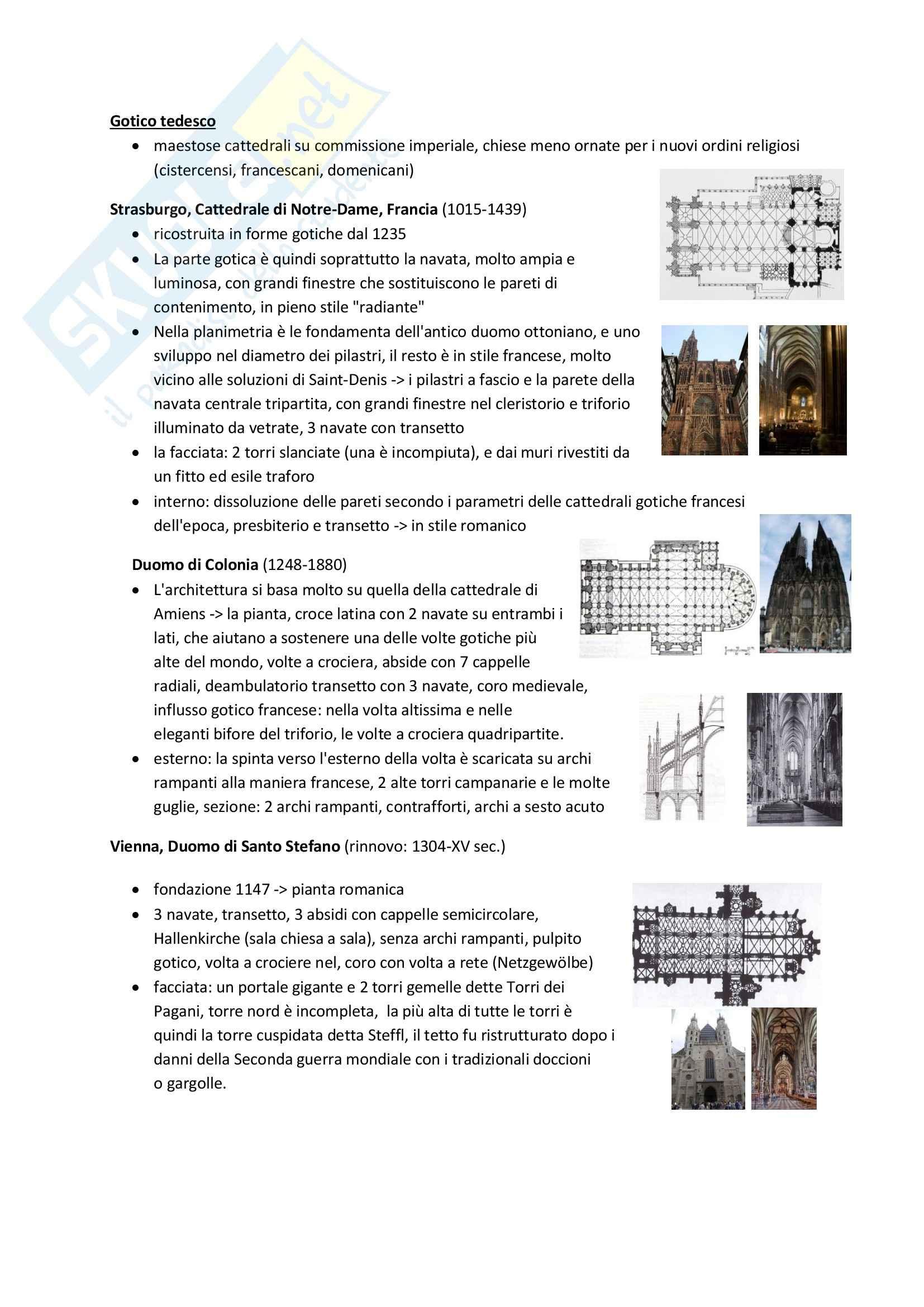 Gotico, Storia dell'architettura e del territorio Pag. 6