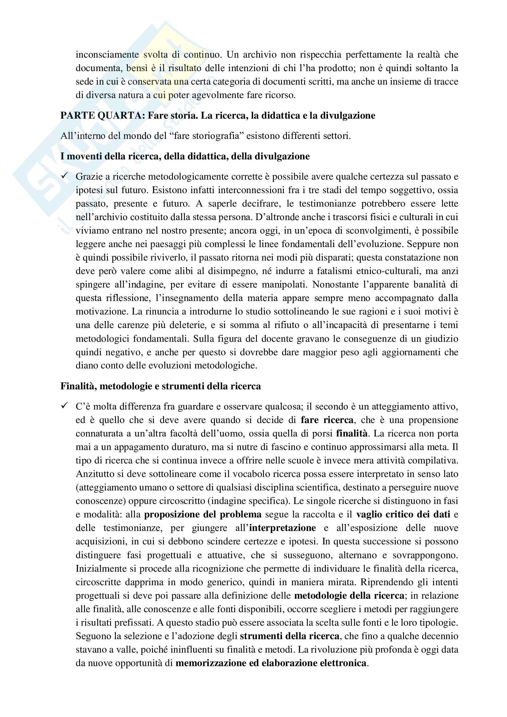 Riassunto esame Storia moderna 1, prof Bazzano, libro consigliato Per entrare nella storia. Guida allo studio, Dondarini Pag. 11