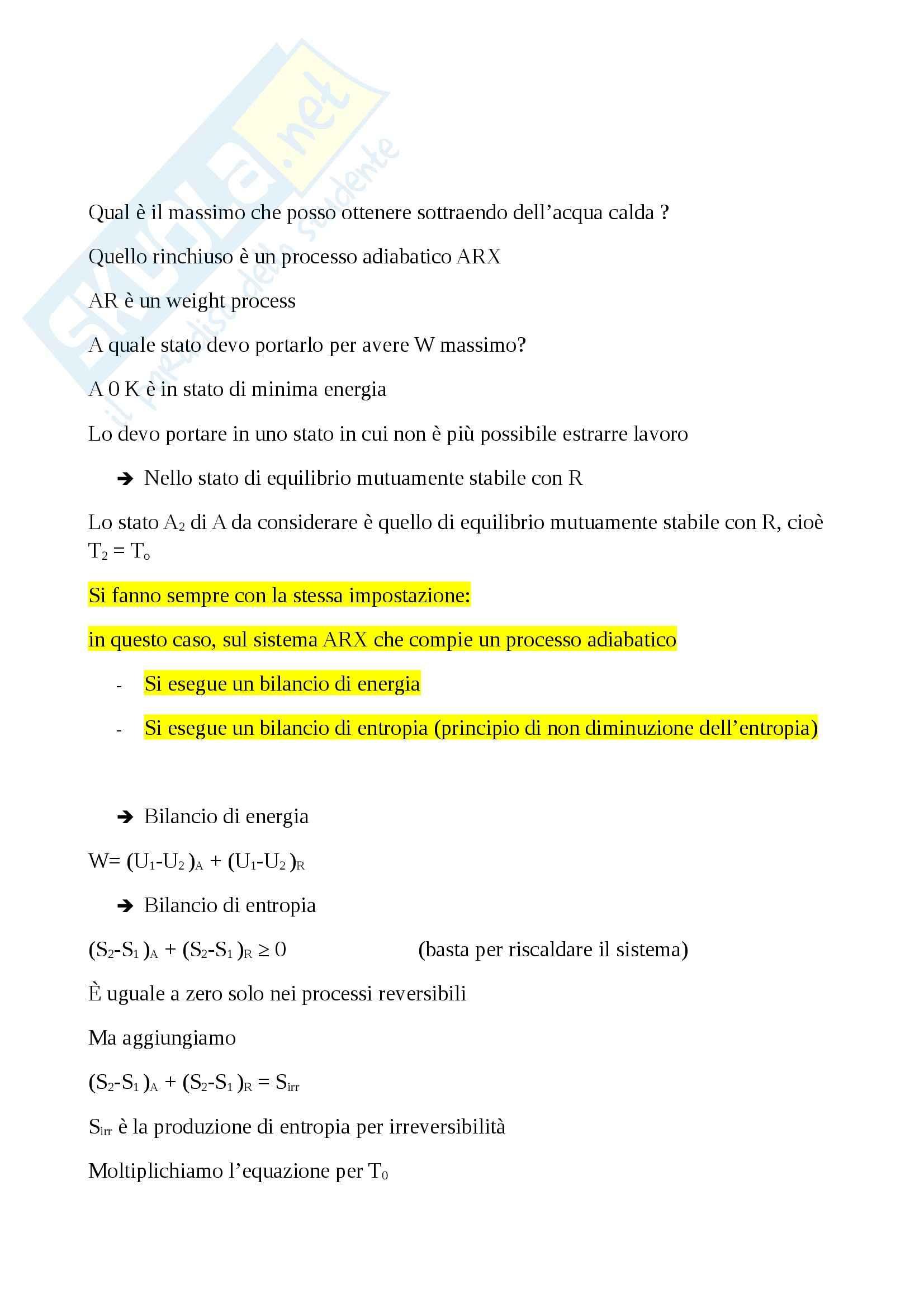 Termodinamica - esercizi Pag. 11