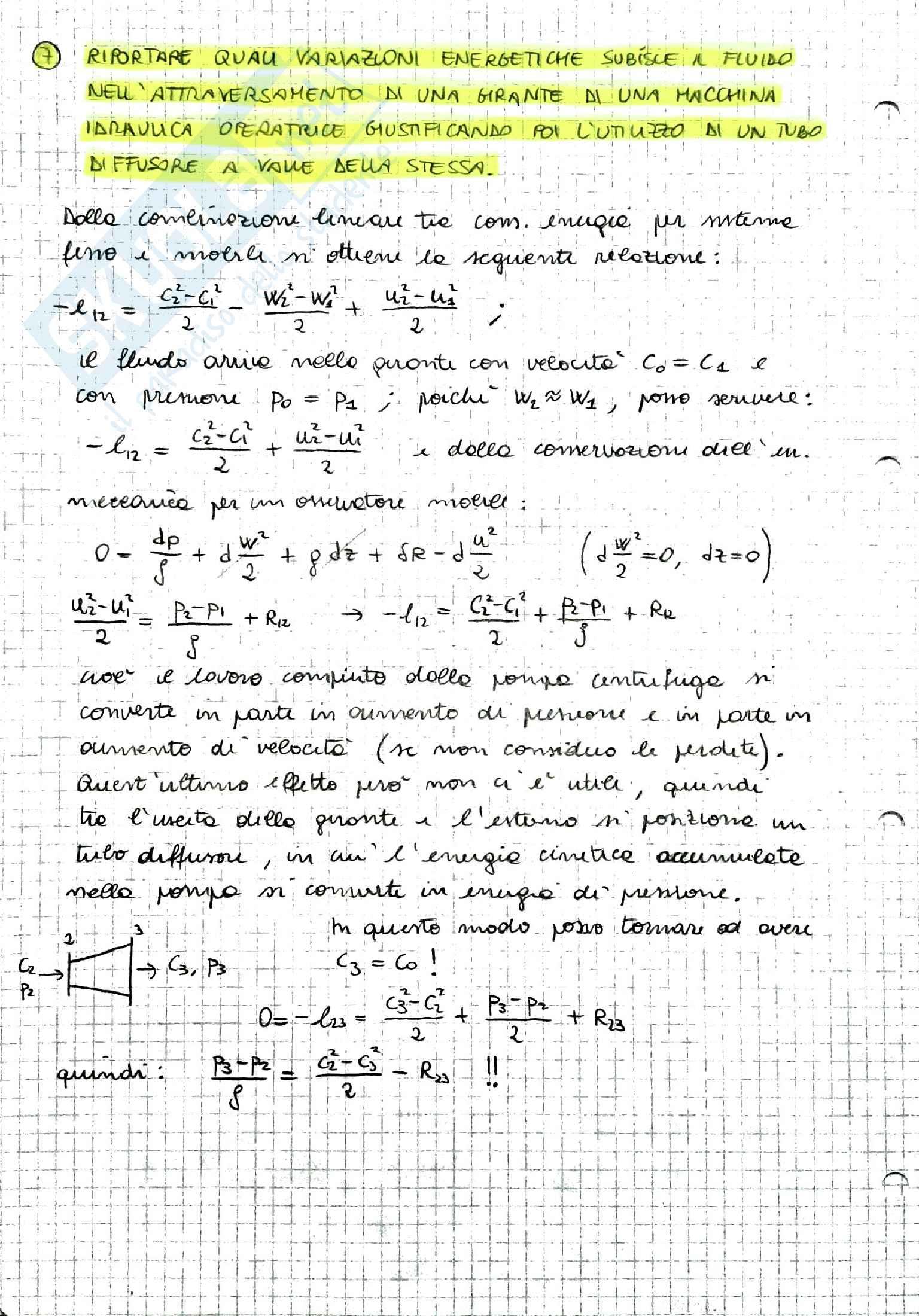 Riassunto Macchine e Sistemi Energetici, prof. Caresana Pag. 6