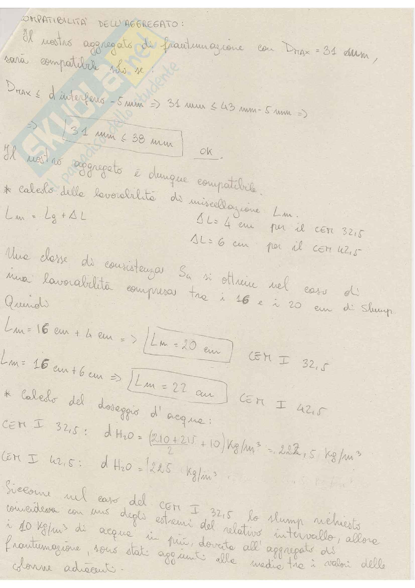 19 problemi: esercitazione di Tecnologia dei materiali Pag. 46