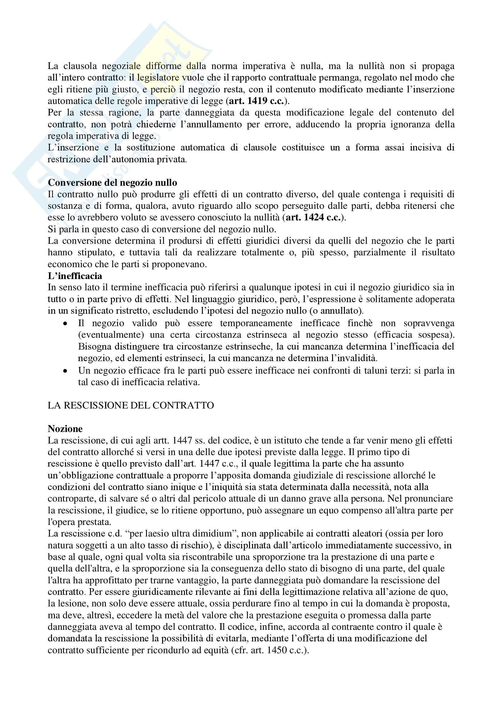 Riassunto esame Diritto Privato, prof. Masi, libro consigliato Manuale di Diritto Privato, Alpa Pag. 131