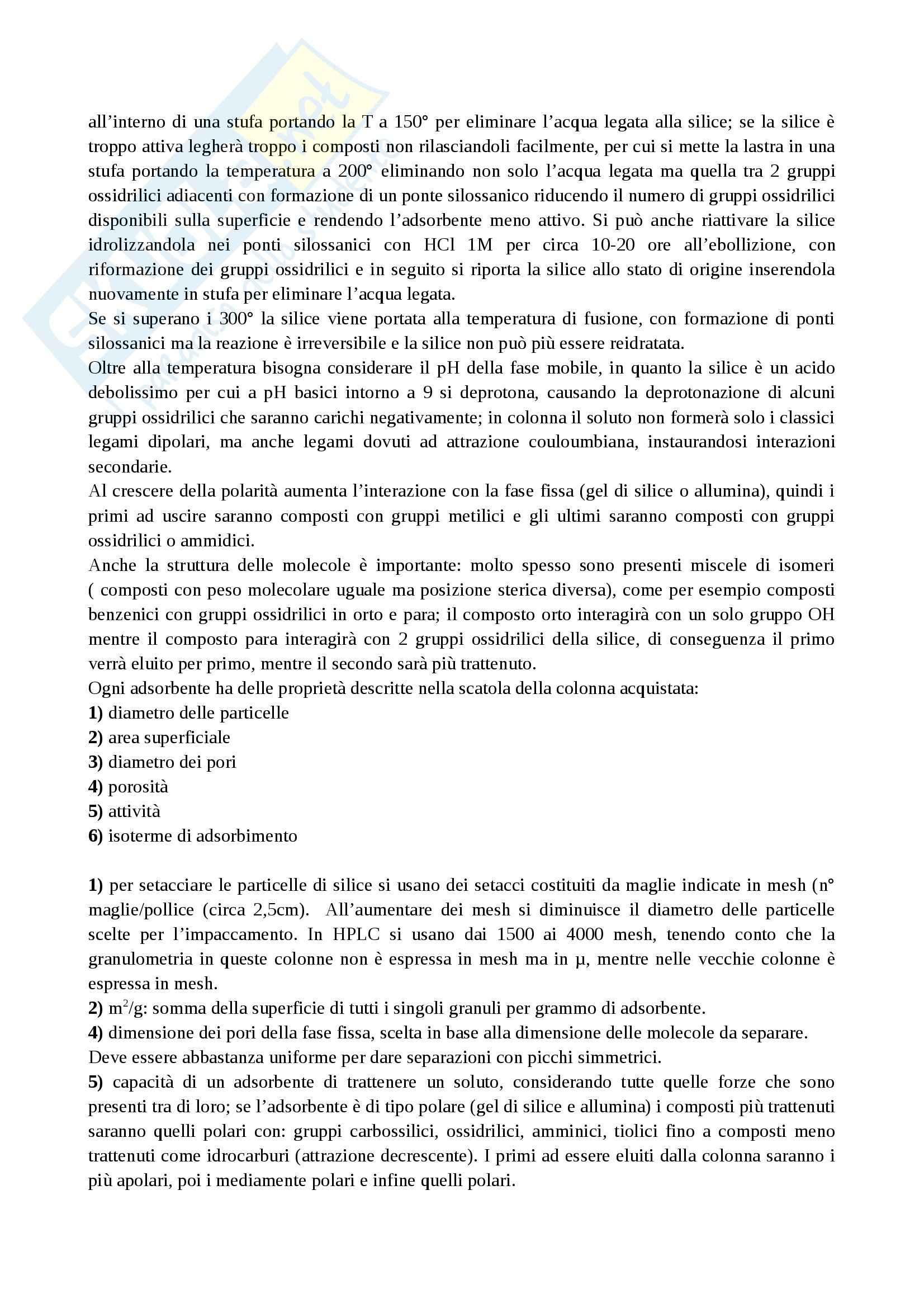 Metodologie Analitiche Avanzate - Appunti parte 1 Pag. 31