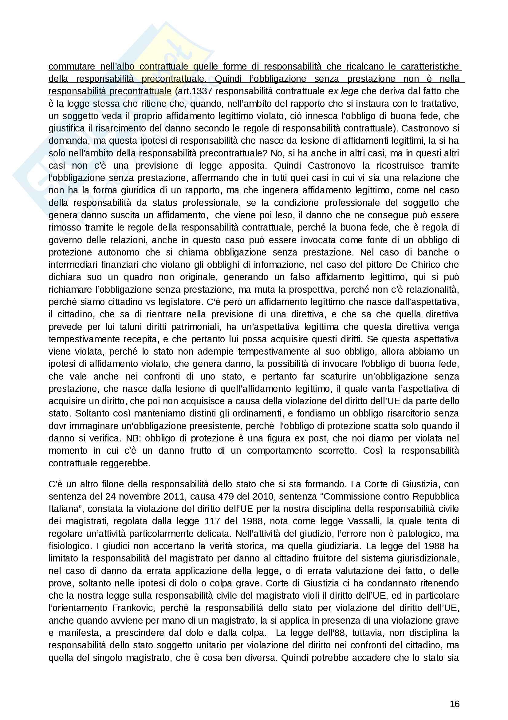 Diritto Privato dell'economia Pag. 16