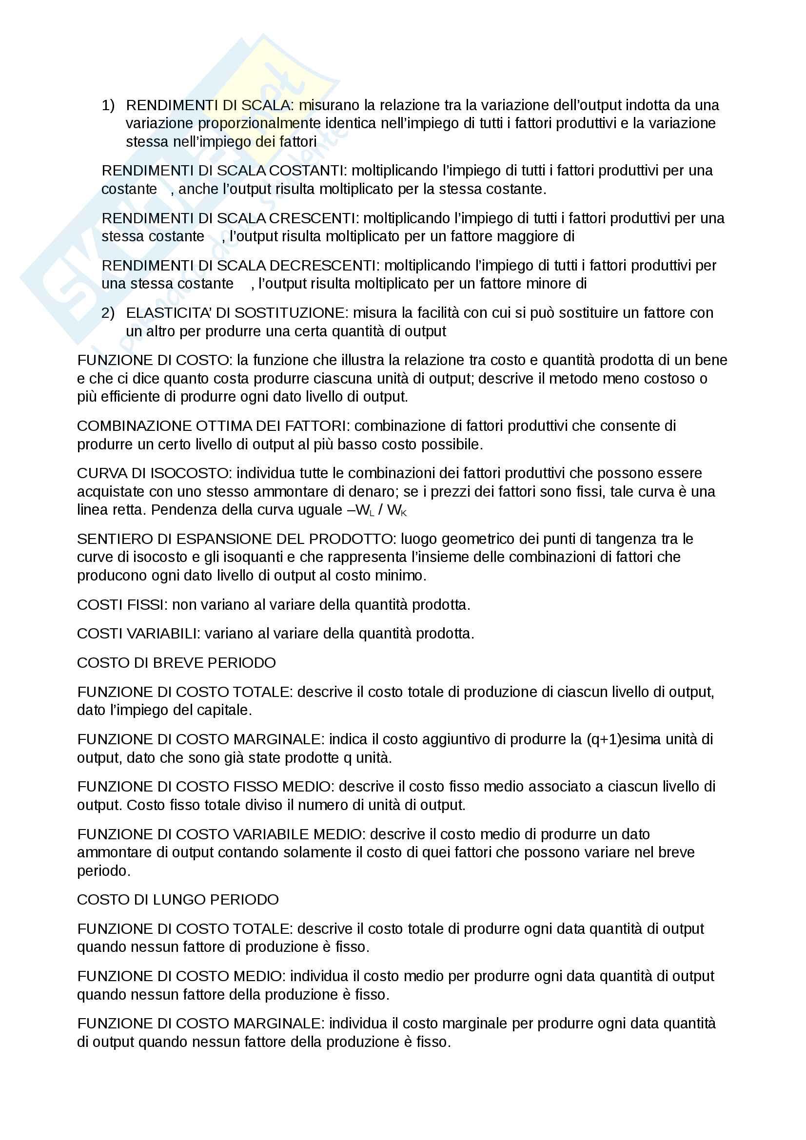 Microeconomia - concetti ed applicazioni Pag. 2