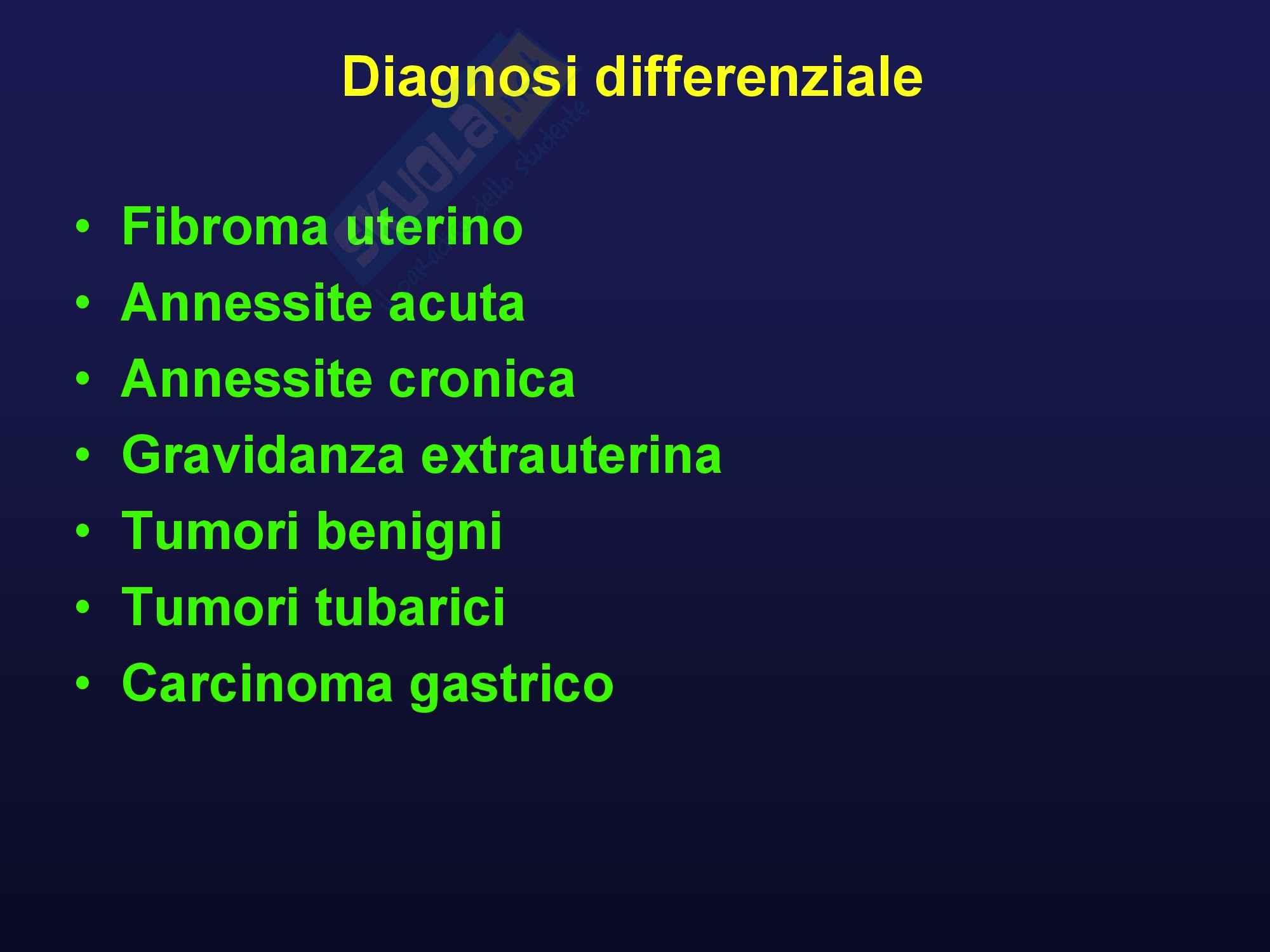 Oncologia medica - Tumori ovarici Pag. 26