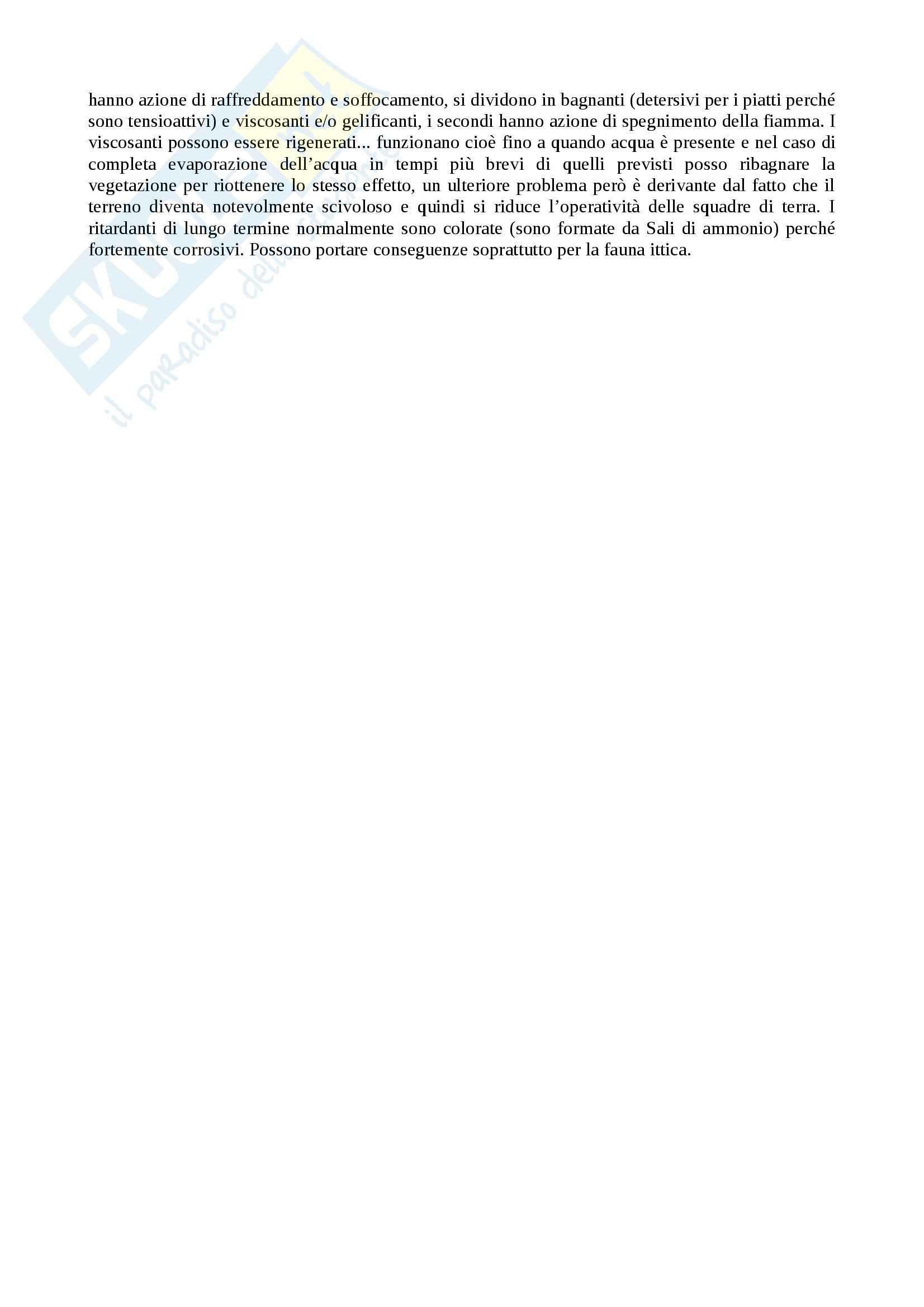 Tecnologie per la difesa dagli incendi boschivi - Appunti Pag. 11