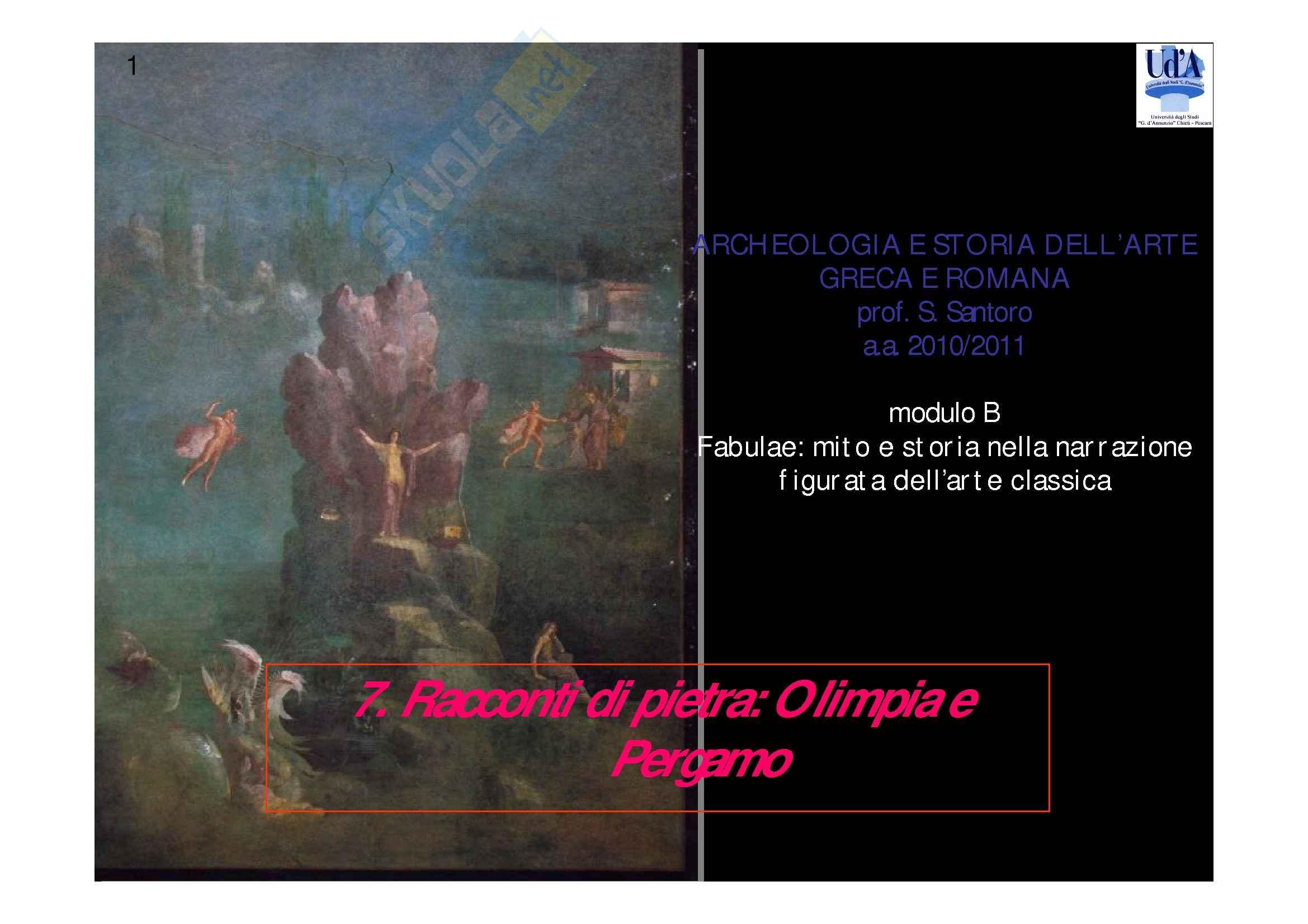 Olimpia e Pergamo - Racconti di pietra