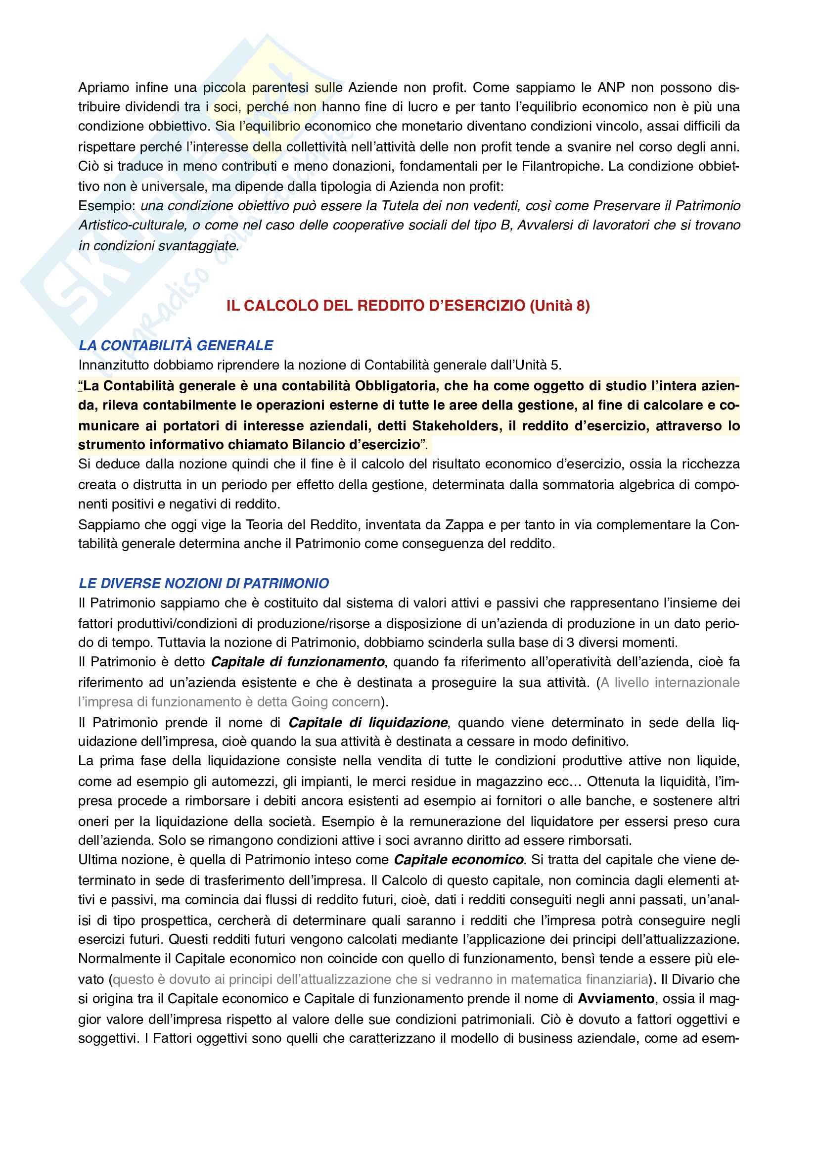 Economia aziendale secondo parziale Pag. 2