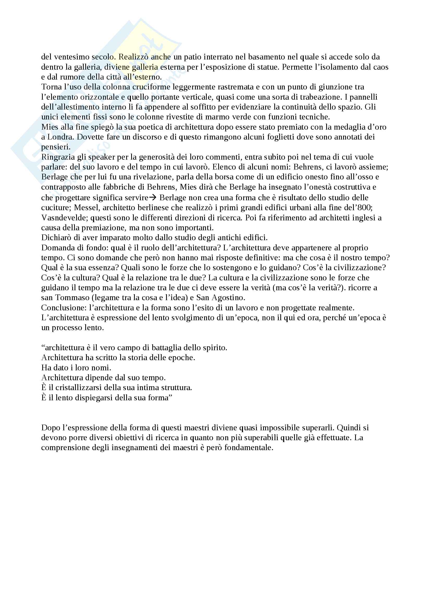 Appunti di storia dell'architettura contemporanea Pag. 56