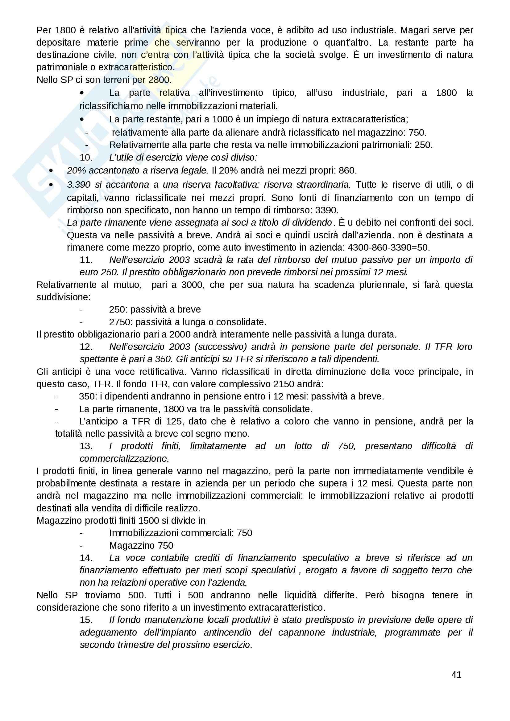 Ragioneria applicata Pag. 41