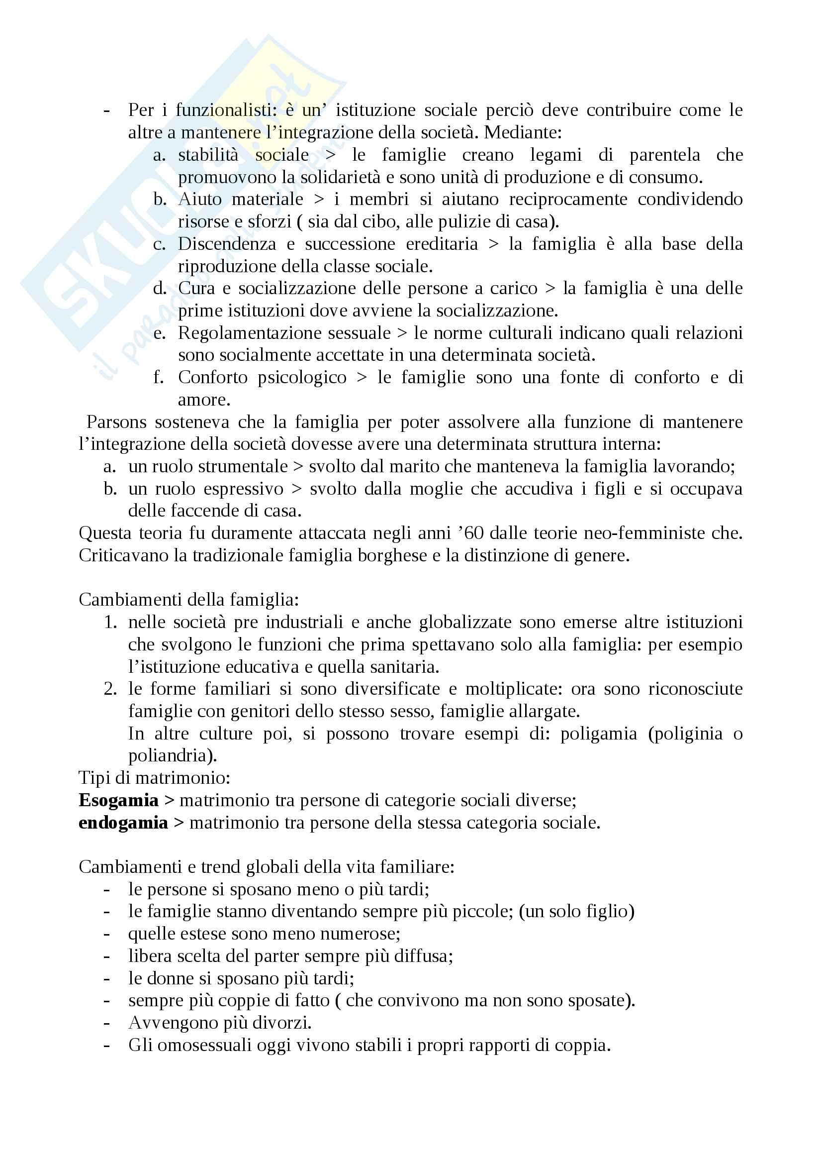 """Riassunto esame Sociologia generale, prof. Borghini, libro consigliato """"Sociologia generale"""", Croteau Pag. 16"""