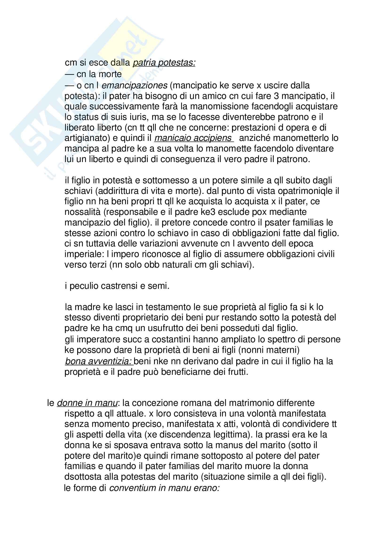 Lezioni: Appunti di Diritto romano Pag. 16