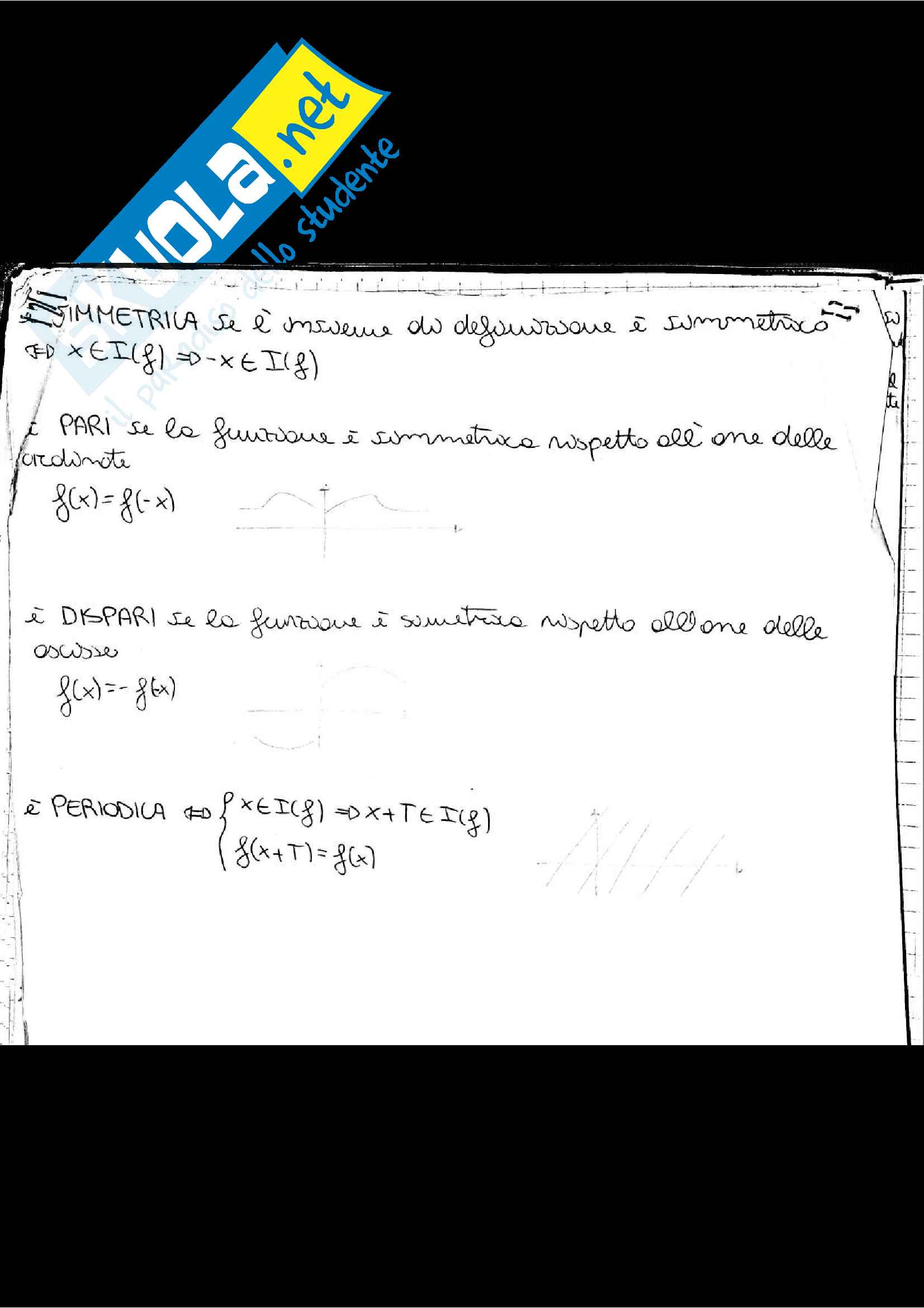 Appunti di Analisi 1, prof. Adele Ferone Pag. 11