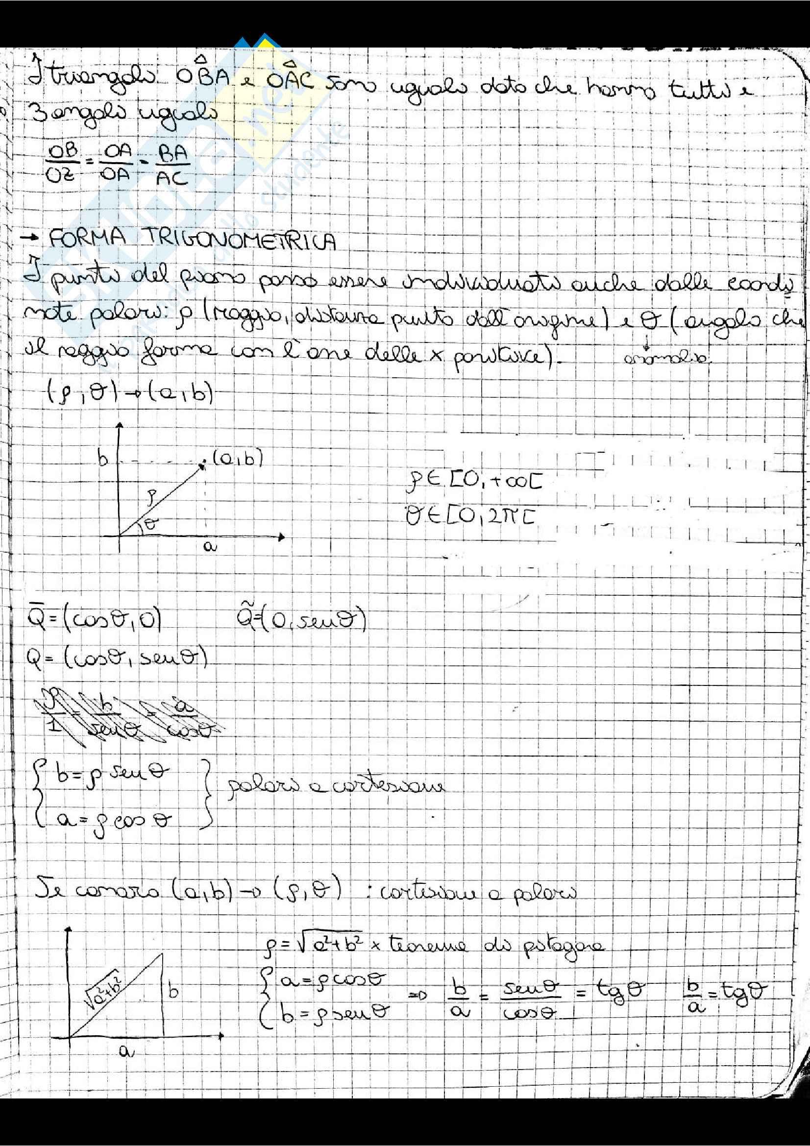 Appunti di Analisi 1, prof. Adele Ferone Pag. 21