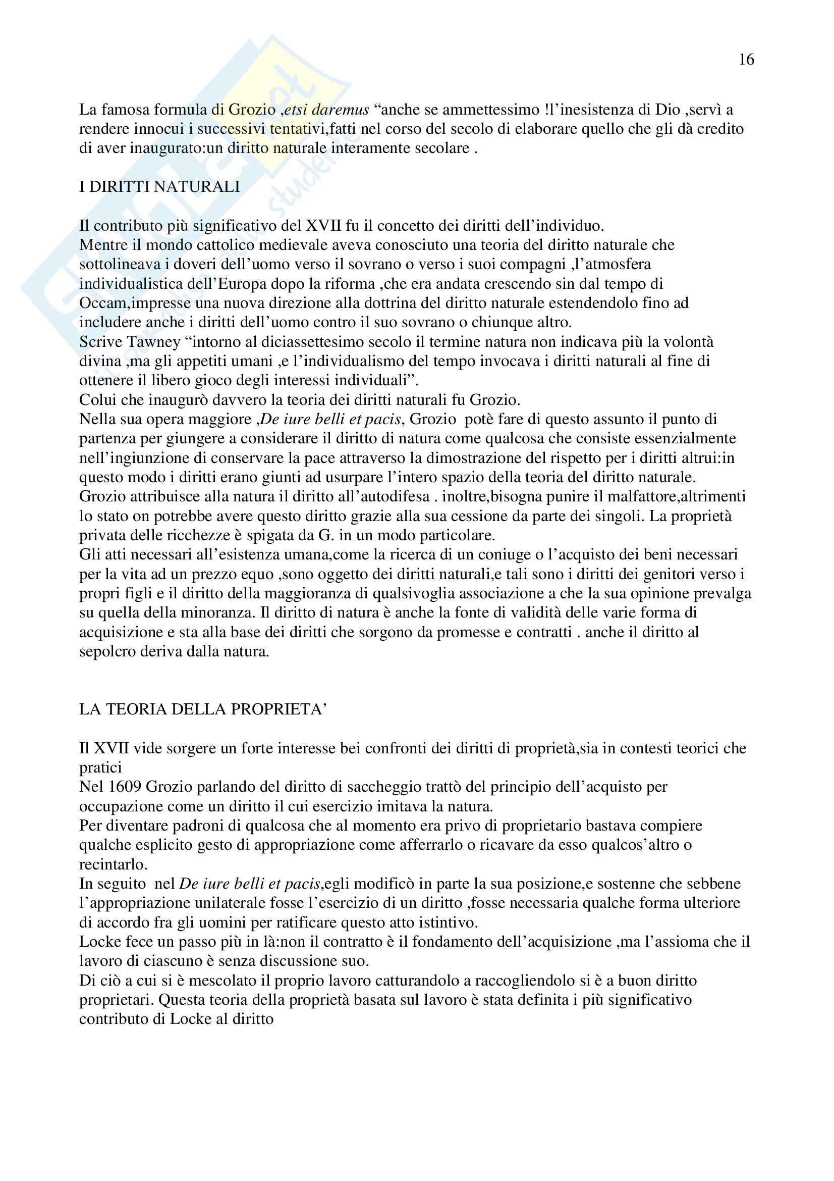 Riassunto esame Fondamenti del Diritto Europeo, prof. Randazzo, libro consigliato Storia del Pensiero Giuridico Occidentale, Kelly Pag. 16