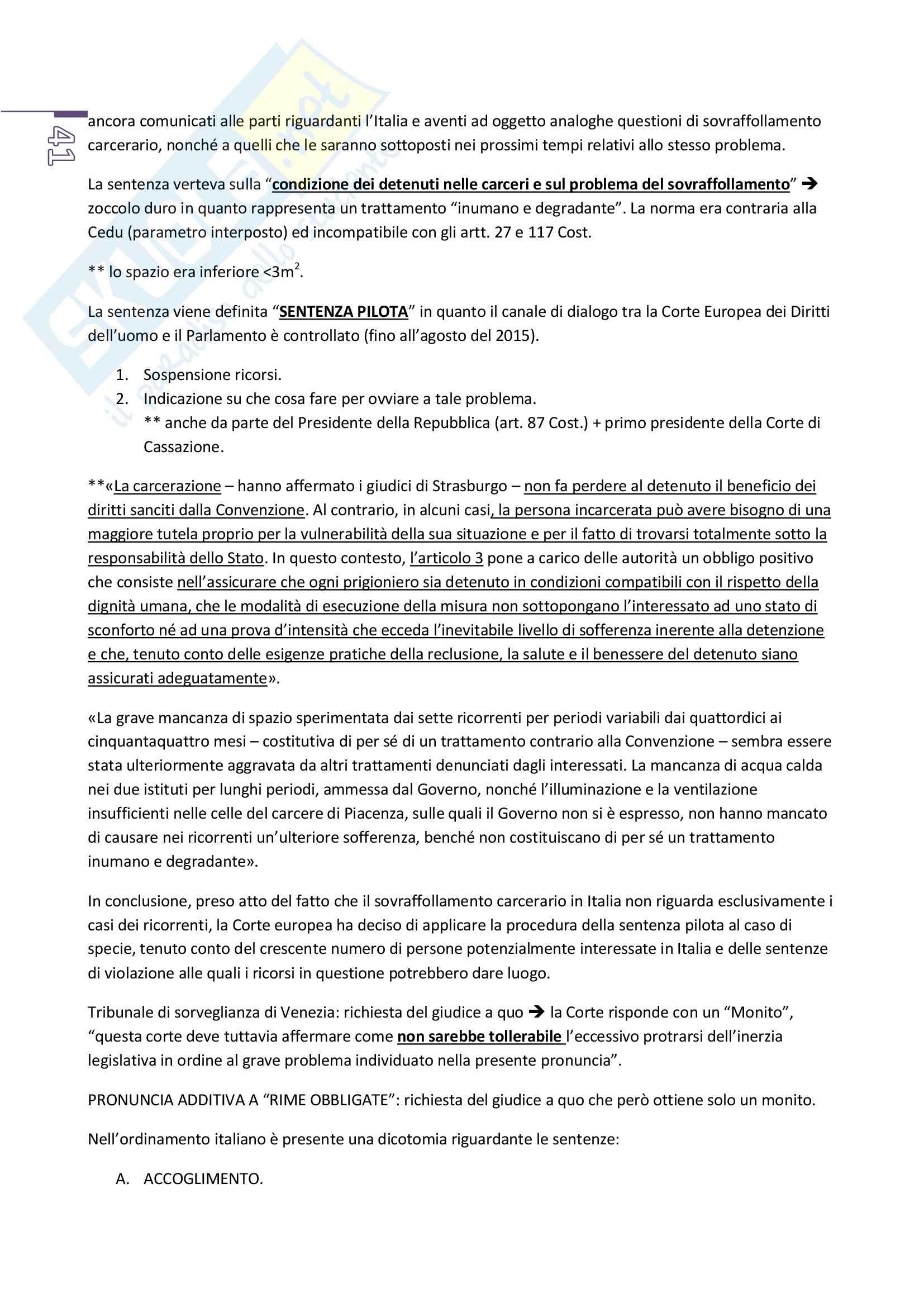 Appunti di diritto costituzionale, prof. Piciocchi (Unitn) Pag. 41